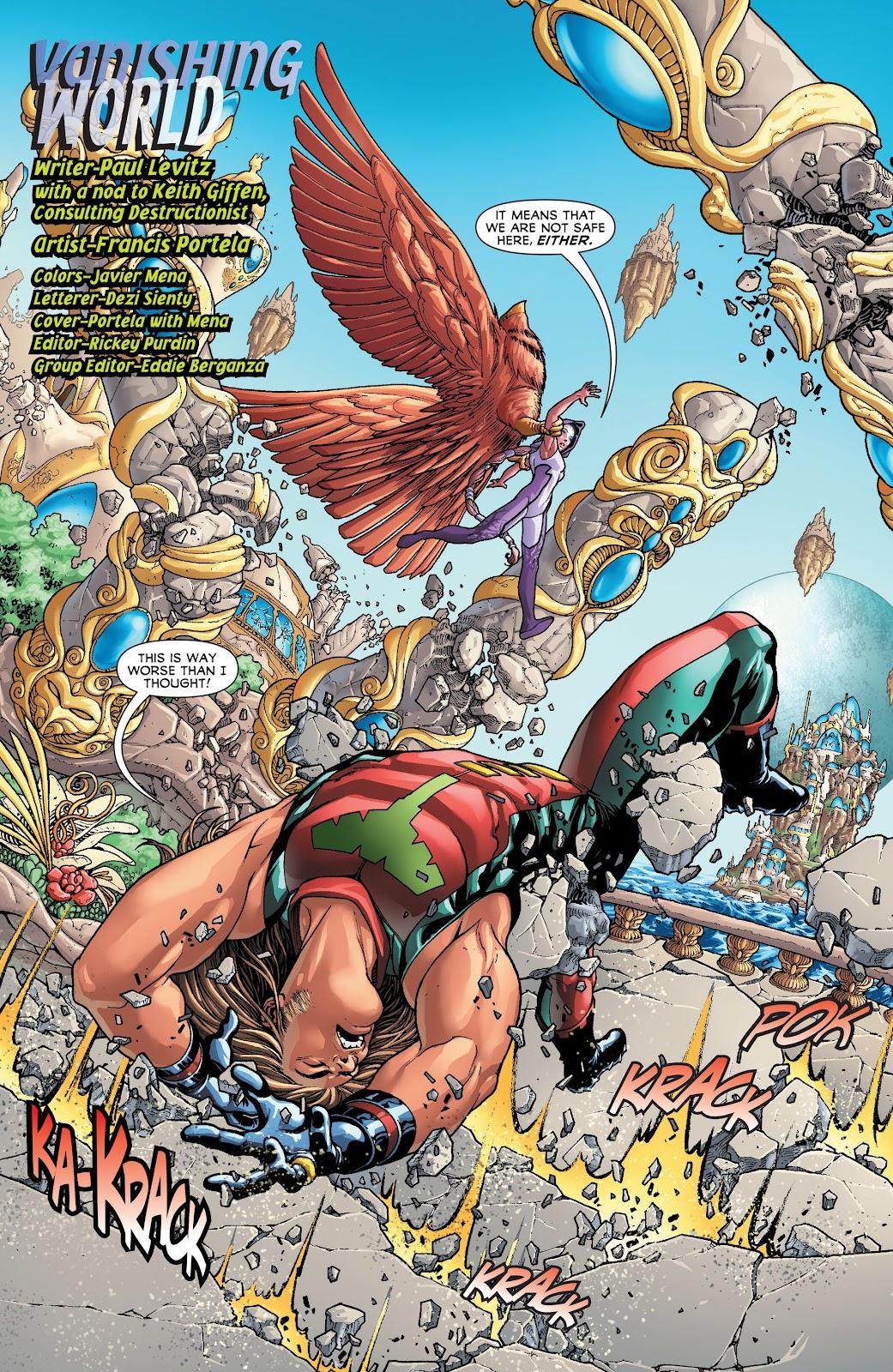 Legion of Super-Heroes (2011) Issue #20 #21 - English 3