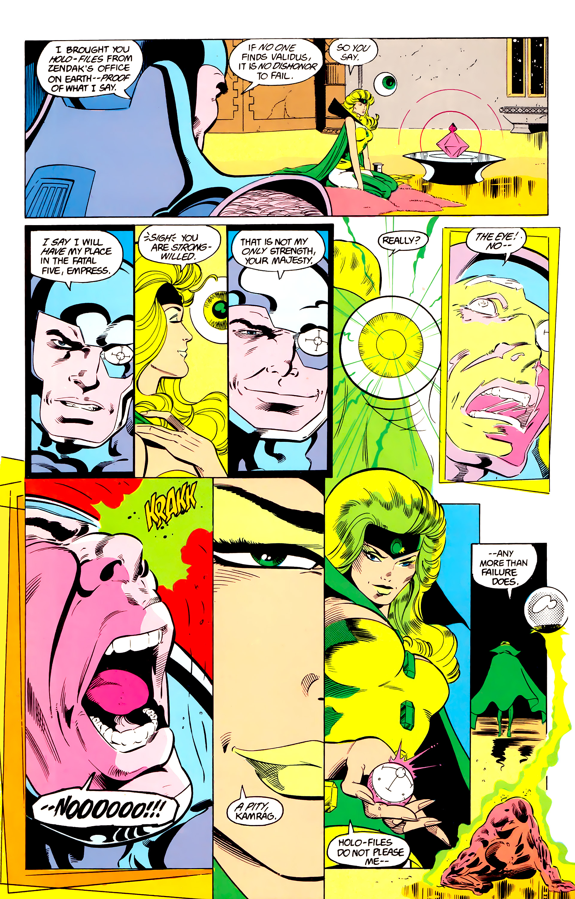 Legion of Super-Heroes (1984) 24 Page 12