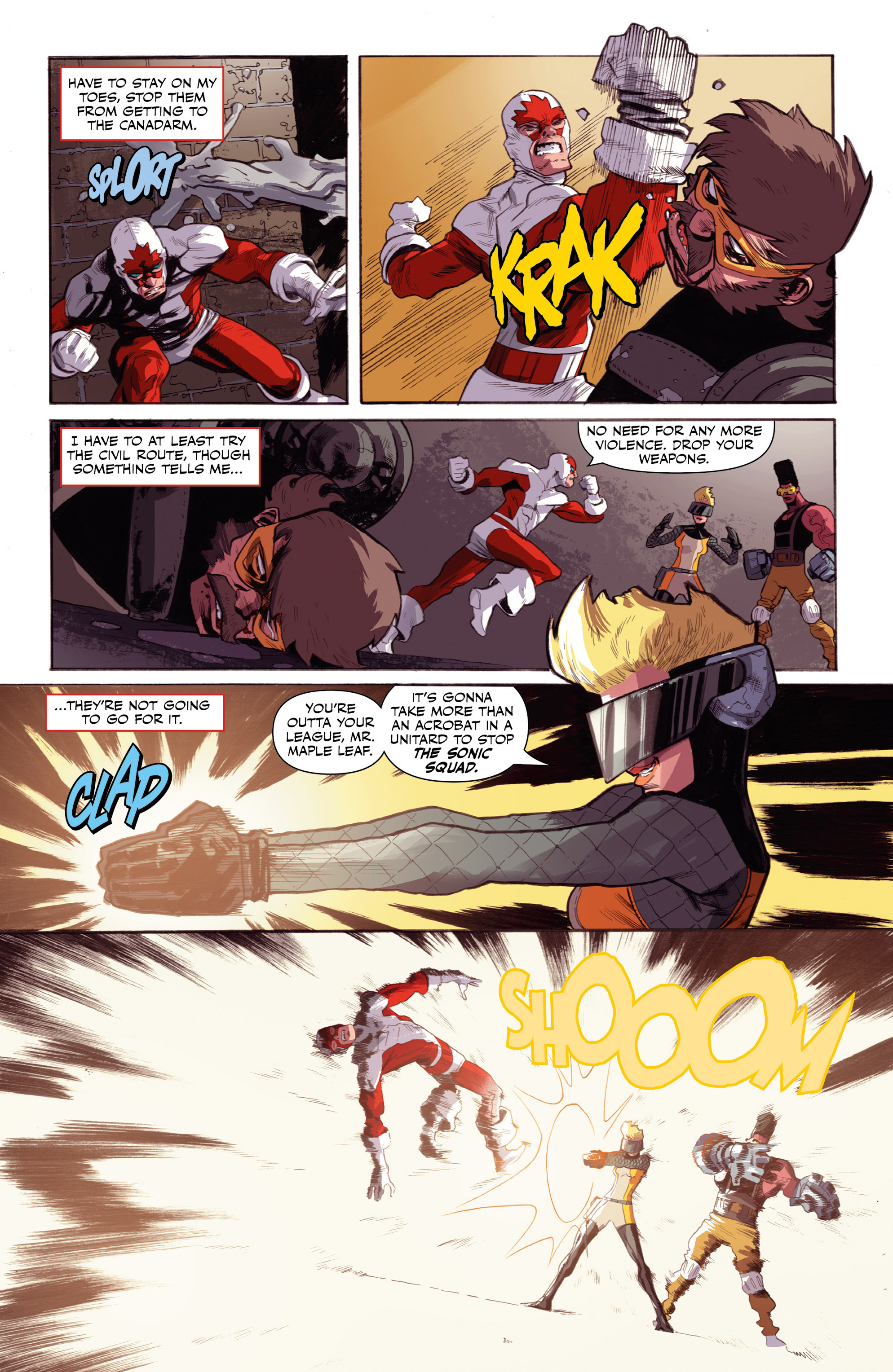 Read online All-New Classic Captain Canuck comic -  Issue #0 - 24