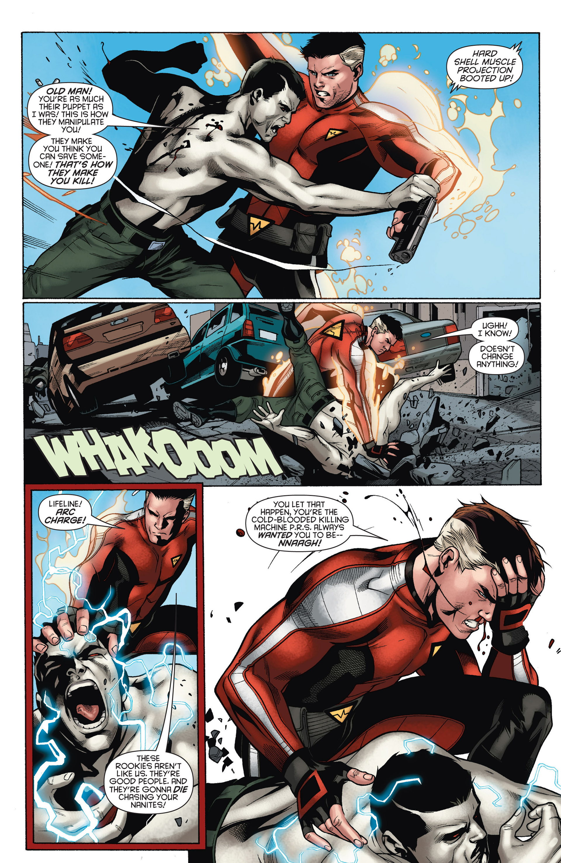 Read online Bloodshot and H.A.R.D.Corps comic -  Issue #15 - 19