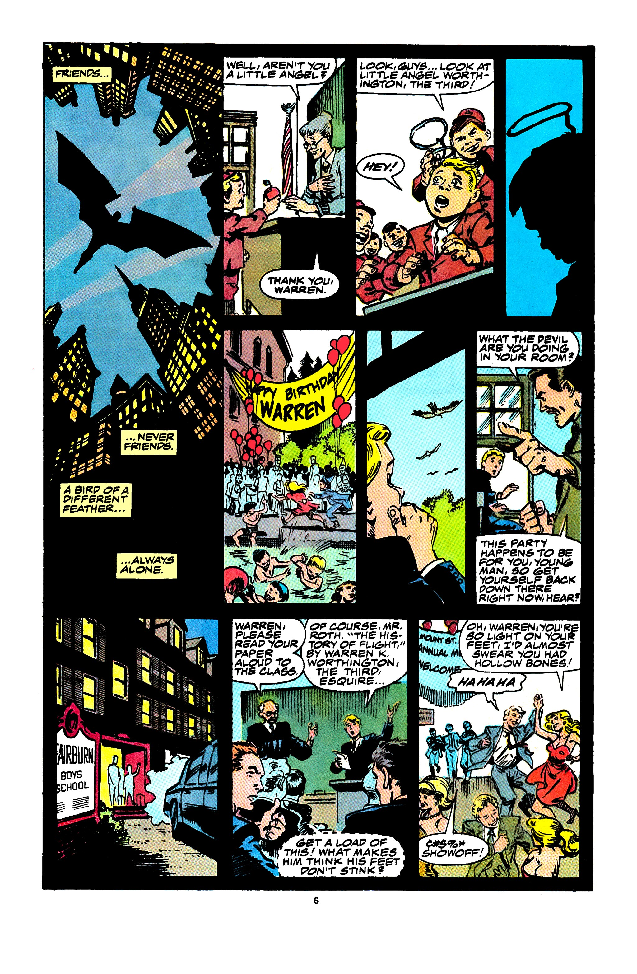 Read online X-Factor (1986) comic -  Issue #47 - 6