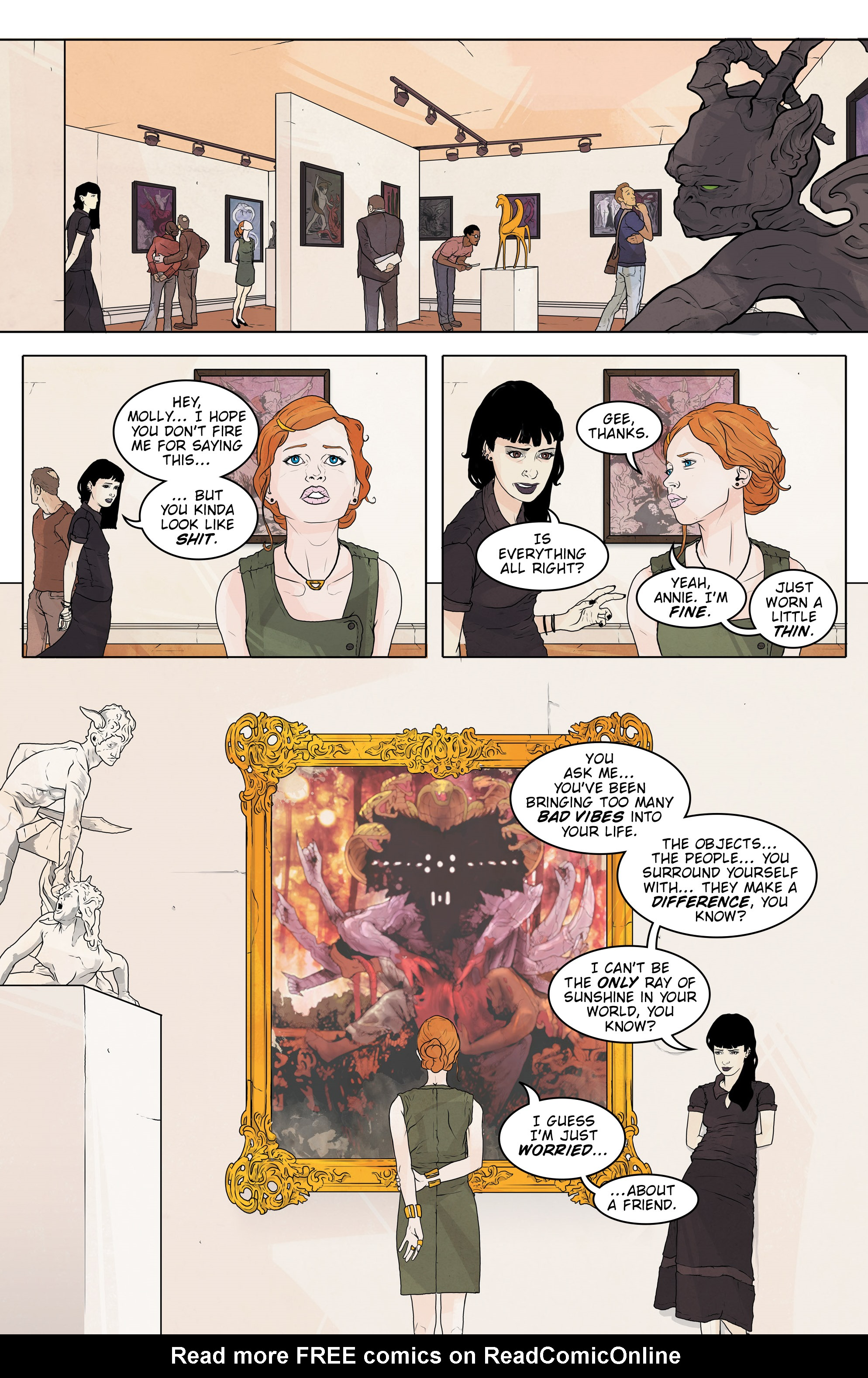 Read online Regression comic -  Issue #2 - 19