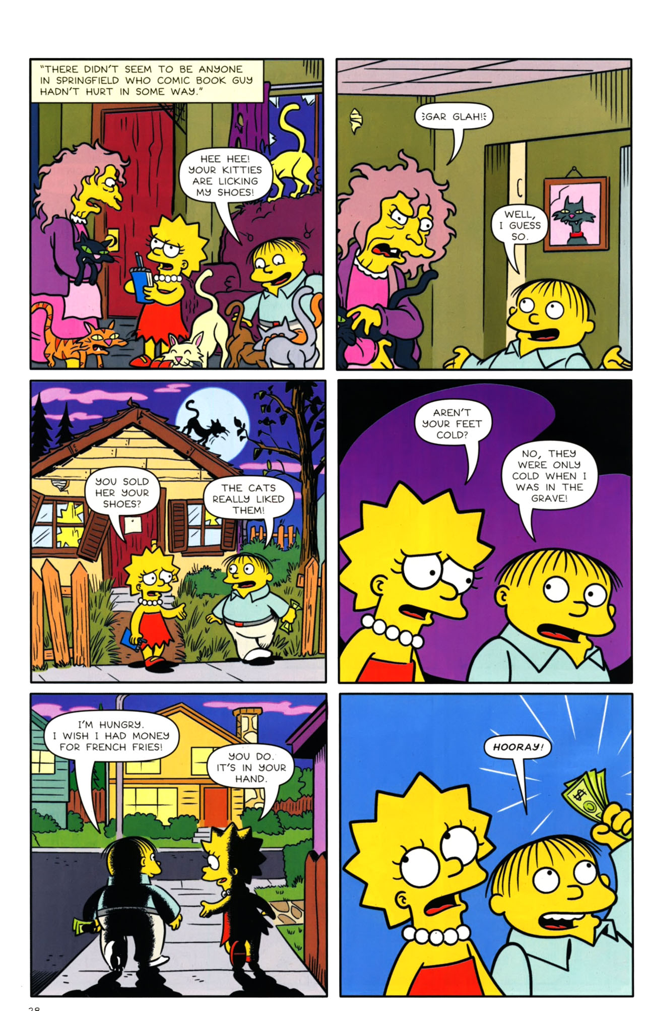 Read online Bongo Comics presents Comic Book Guy: The Comic Book comic -  Issue #4 - 30