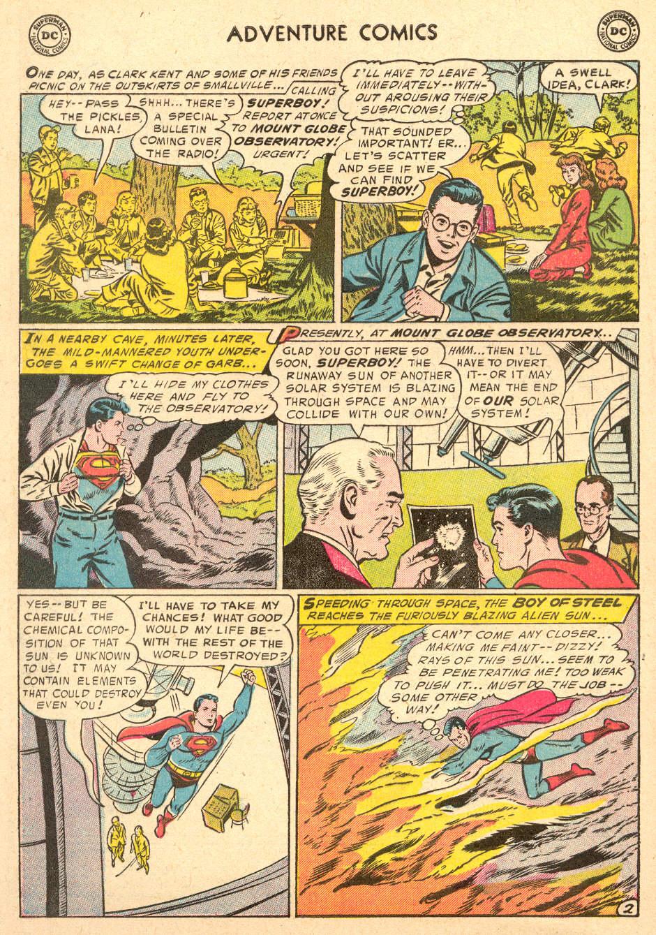 Read online Adventure Comics (1938) comic -  Issue #212 - 4