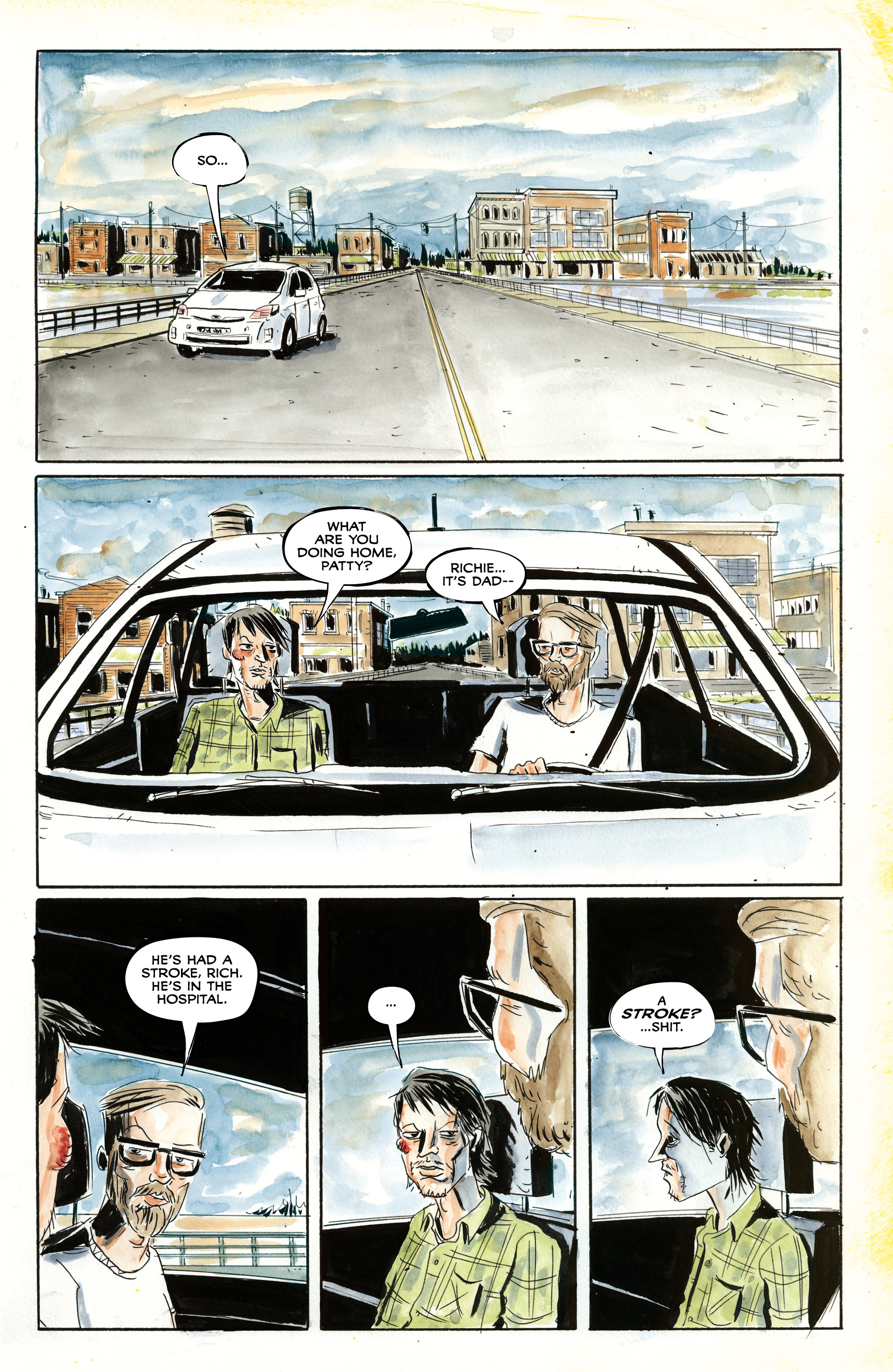 Read online Royal City comic -  Issue #3 - 6