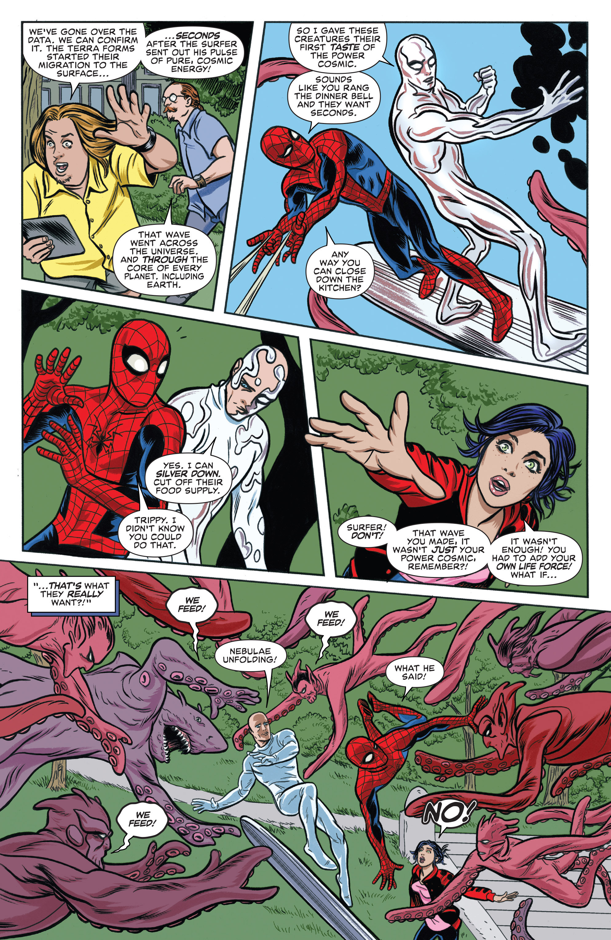Read online Silver Surfer (2016) comic -  Issue #6 - 19
