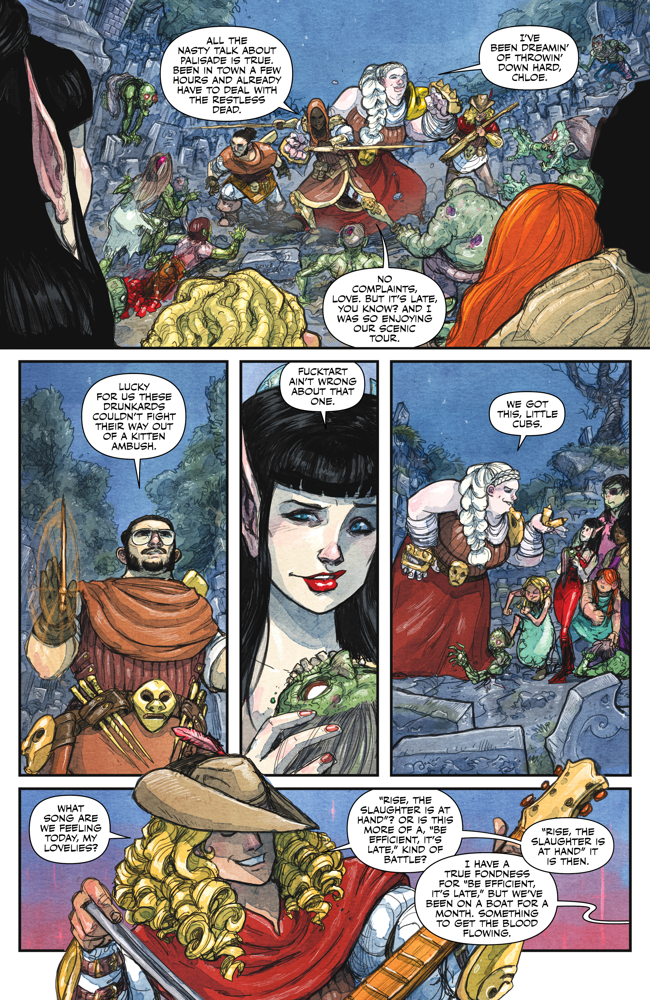 Read online Rat Queens (2017) comic -  Issue #3 - 3
