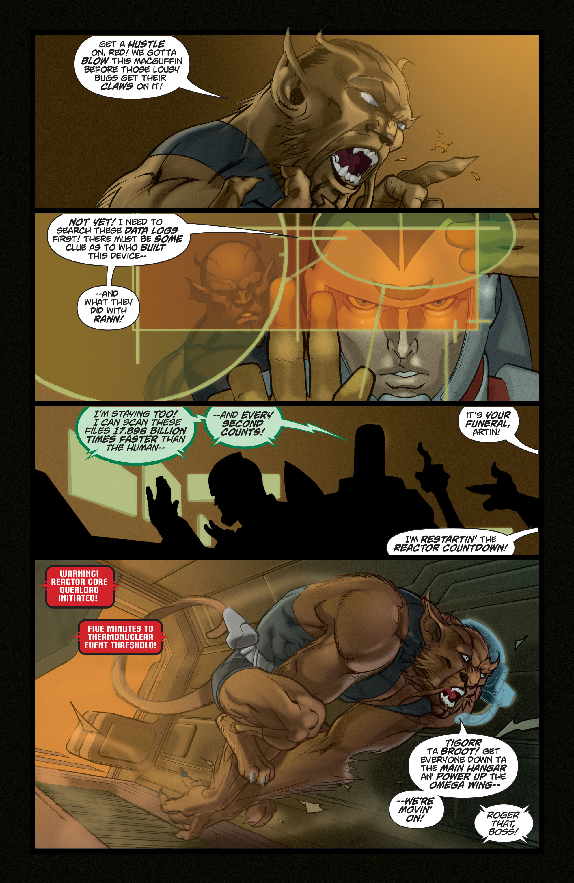 Read online Adam Strange (2004) comic -  Issue #5 - 7