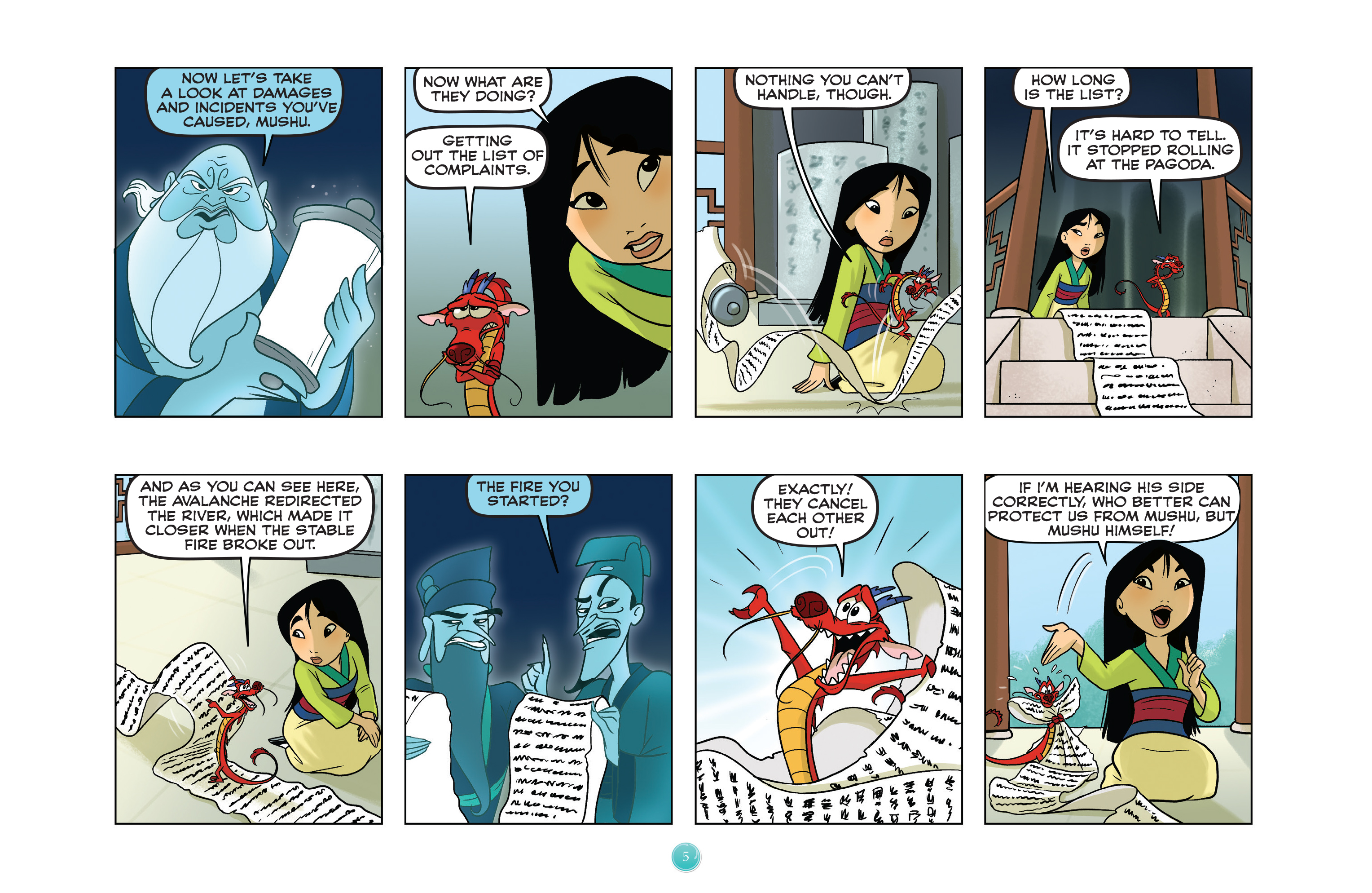 Read online Disney Princess comic -  Issue #5 - 8