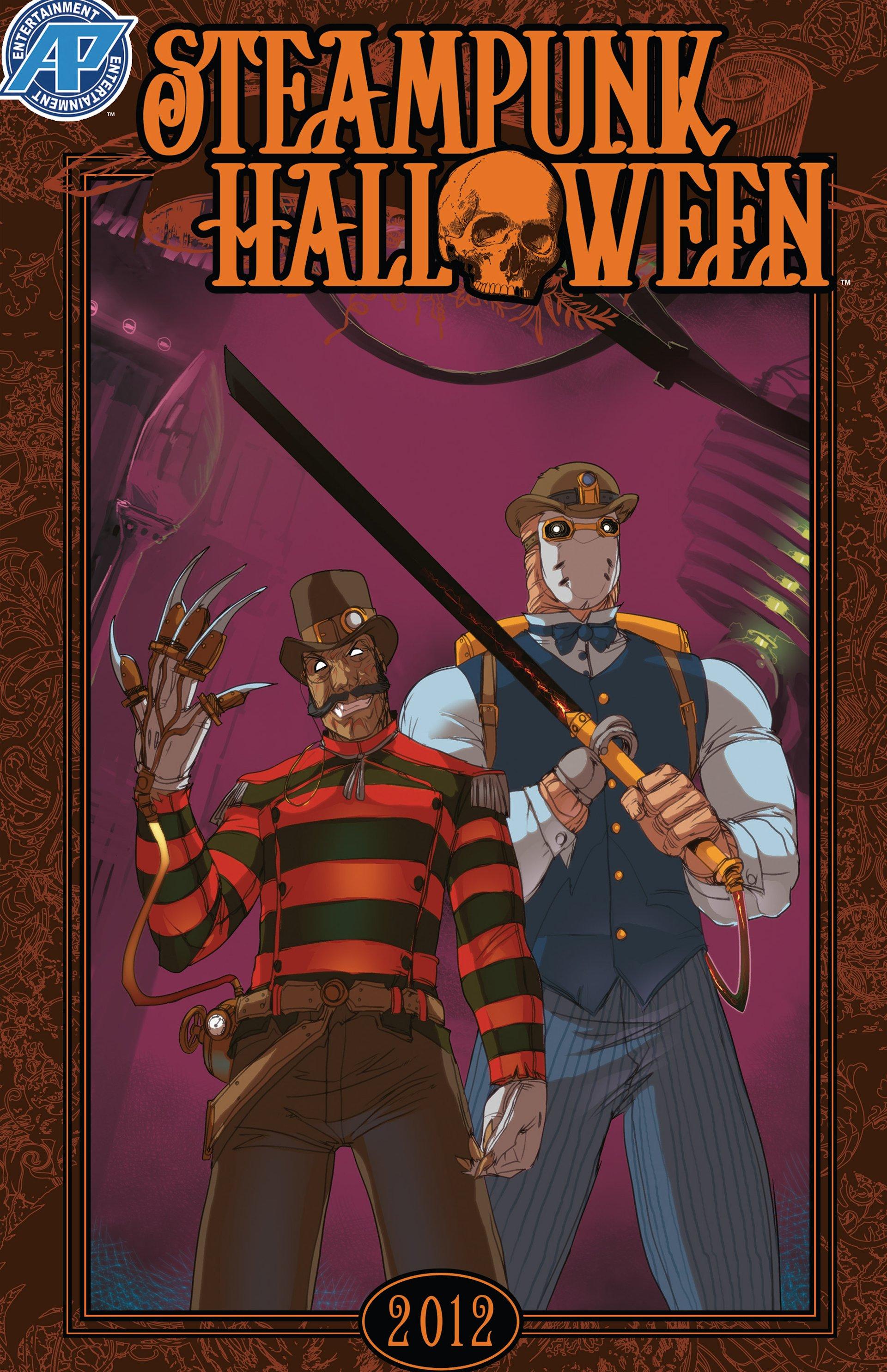 Read online Steampunk Halloween 2012 comic -  Issue # Full - 1