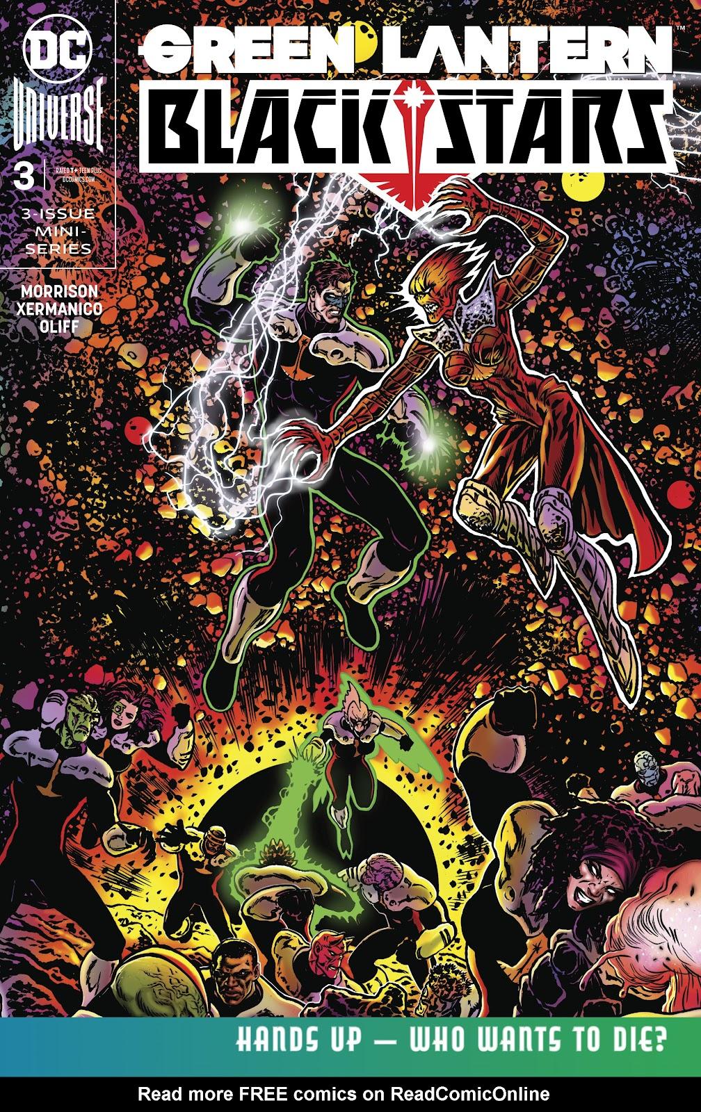Green Lantern: Blackstars 3 Page 1