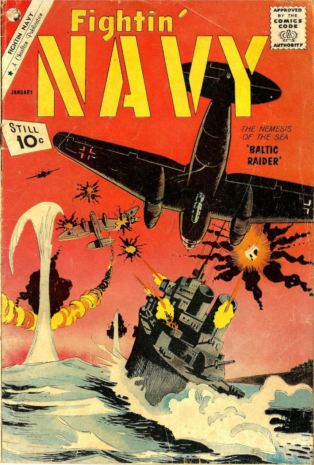 Read online Fightin' Navy comic -  Issue #102 - 1