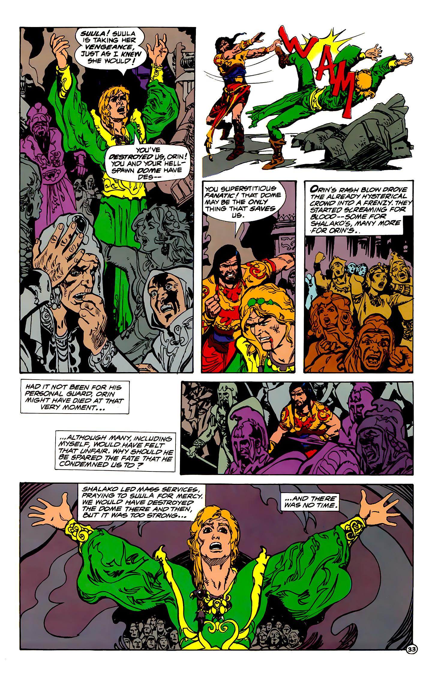 Read online Atlantis Chronicles comic -  Issue #1 - 33