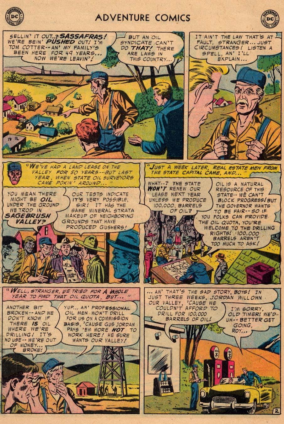 Read online Adventure Comics (1938) comic -  Issue #229 - 28