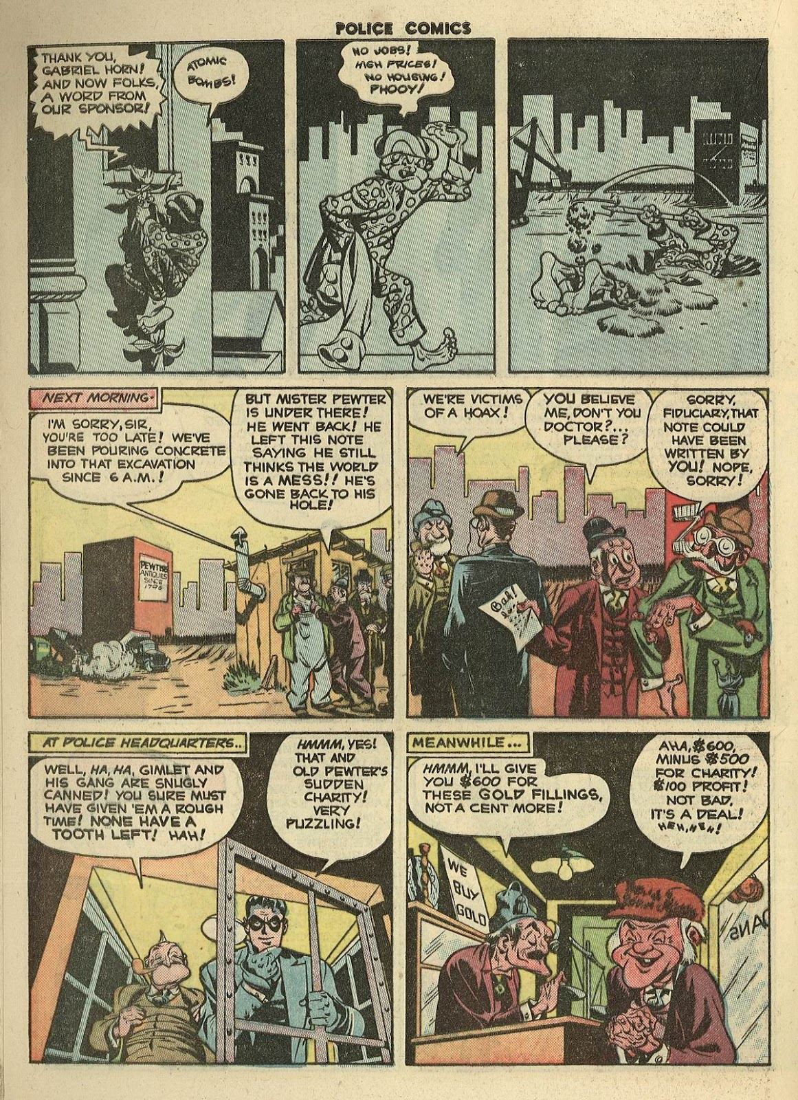 Police Comics issue 100 - Page 20