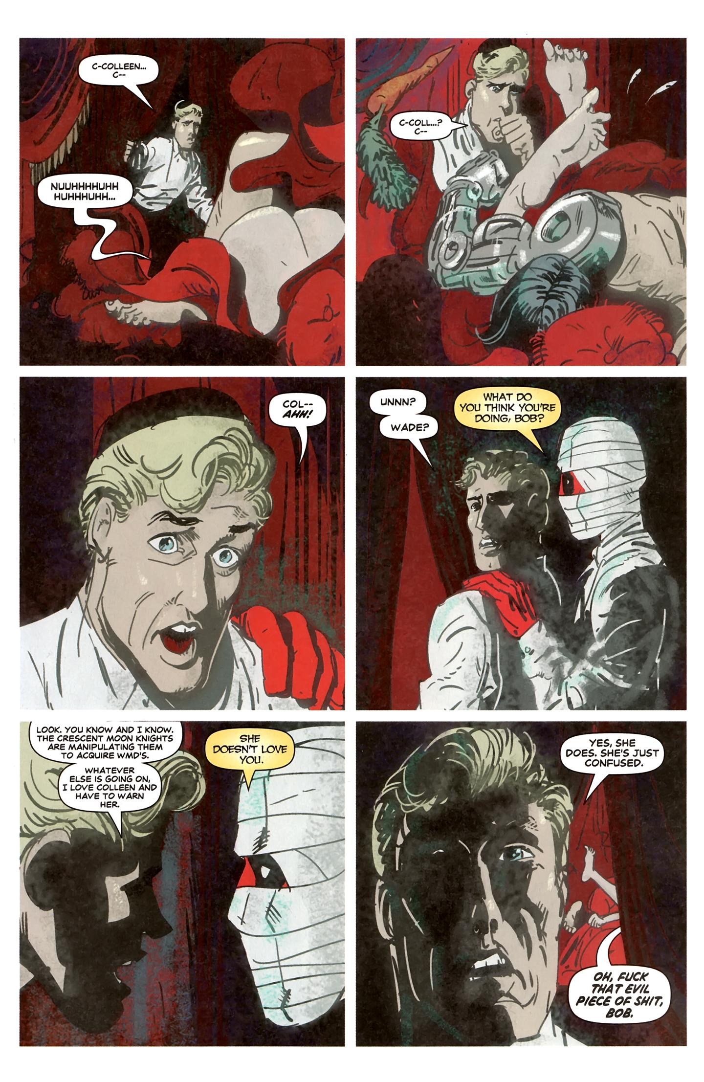Read online Deadpool MAX X-Mas Special comic -  Issue # Full - 20