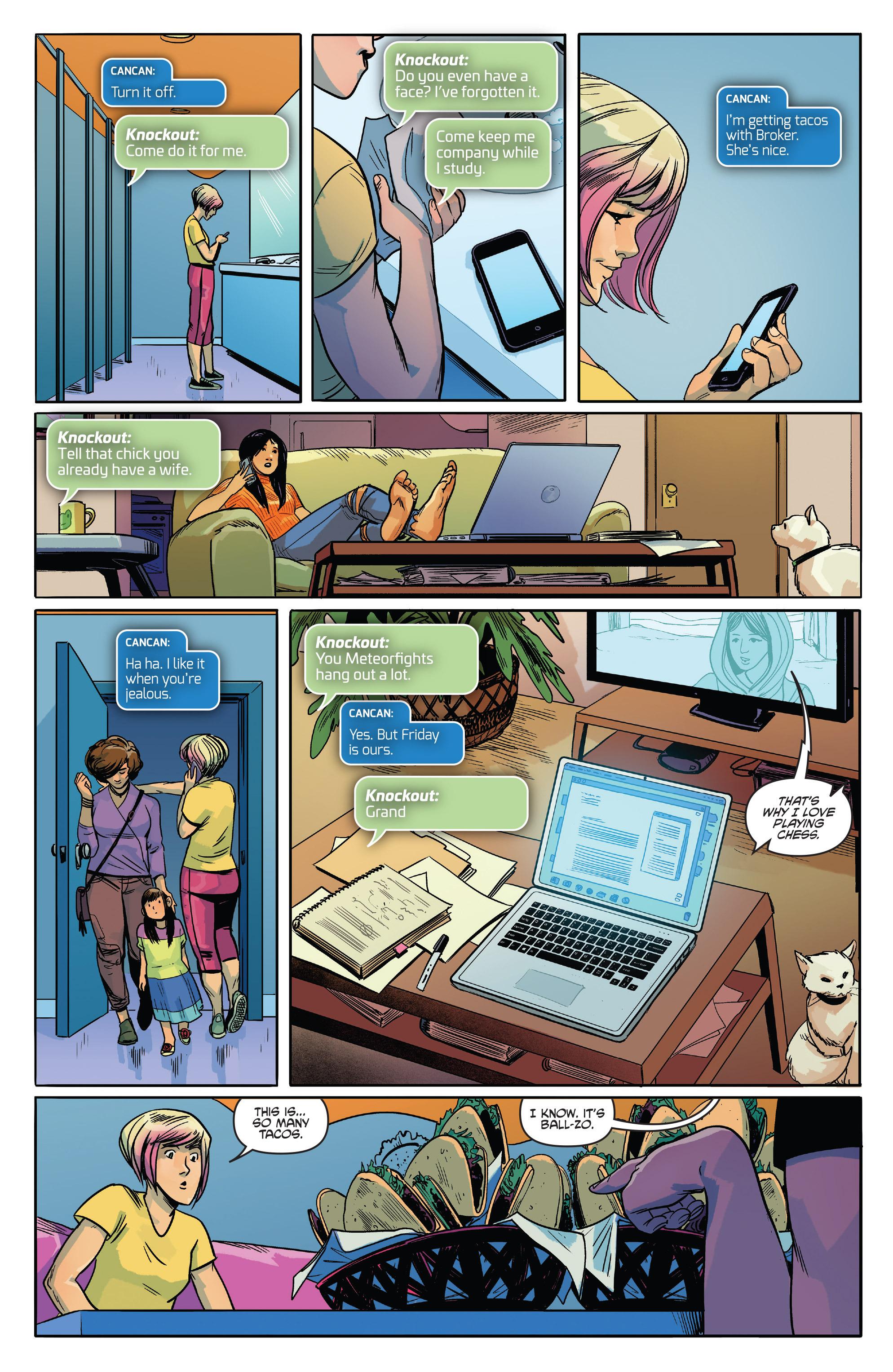 Read online Slam! comic -  Issue #3 - 5