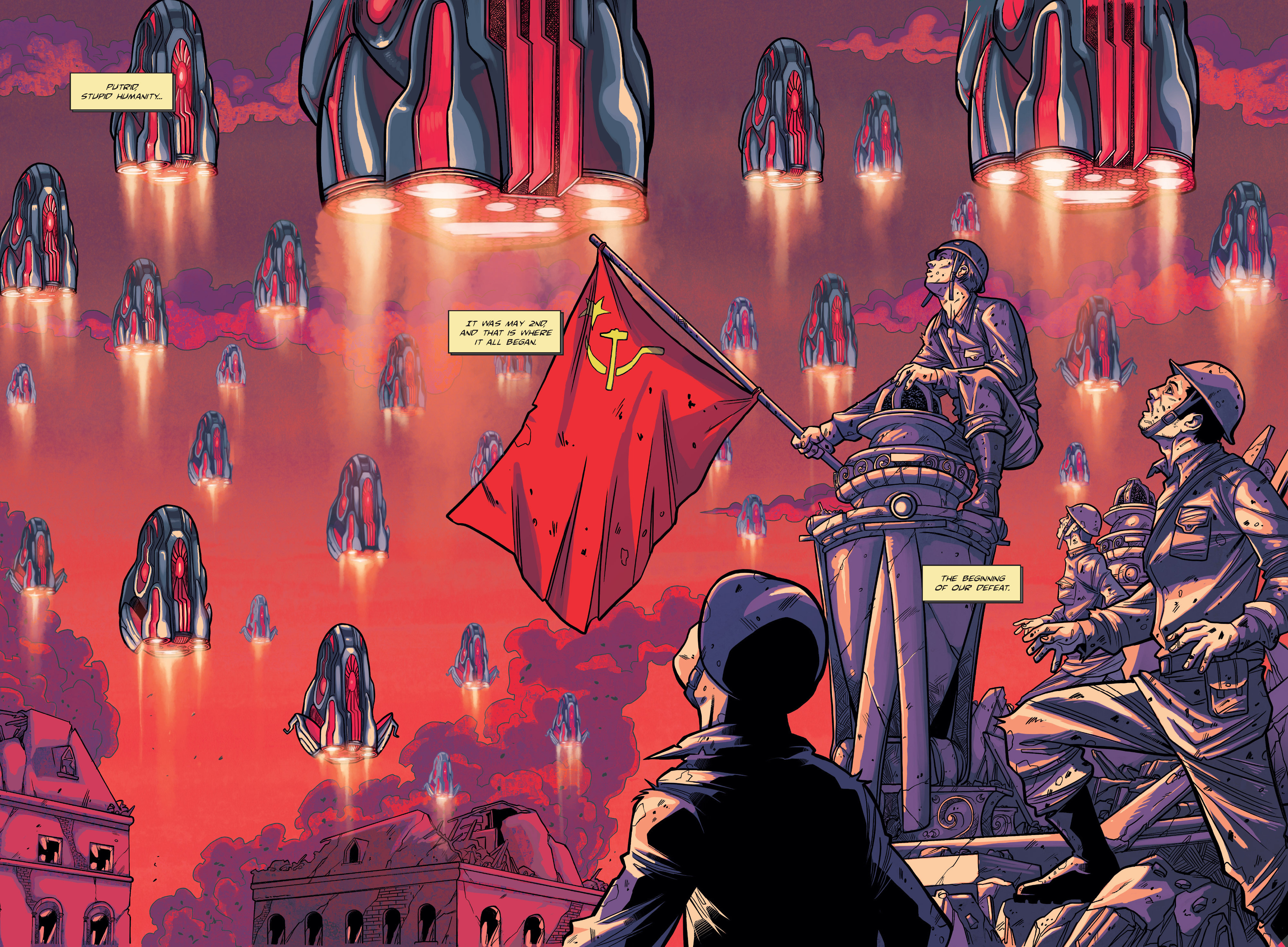 Read online The Shadow of a Terrible Thing comic -  Issue # TPB - 8