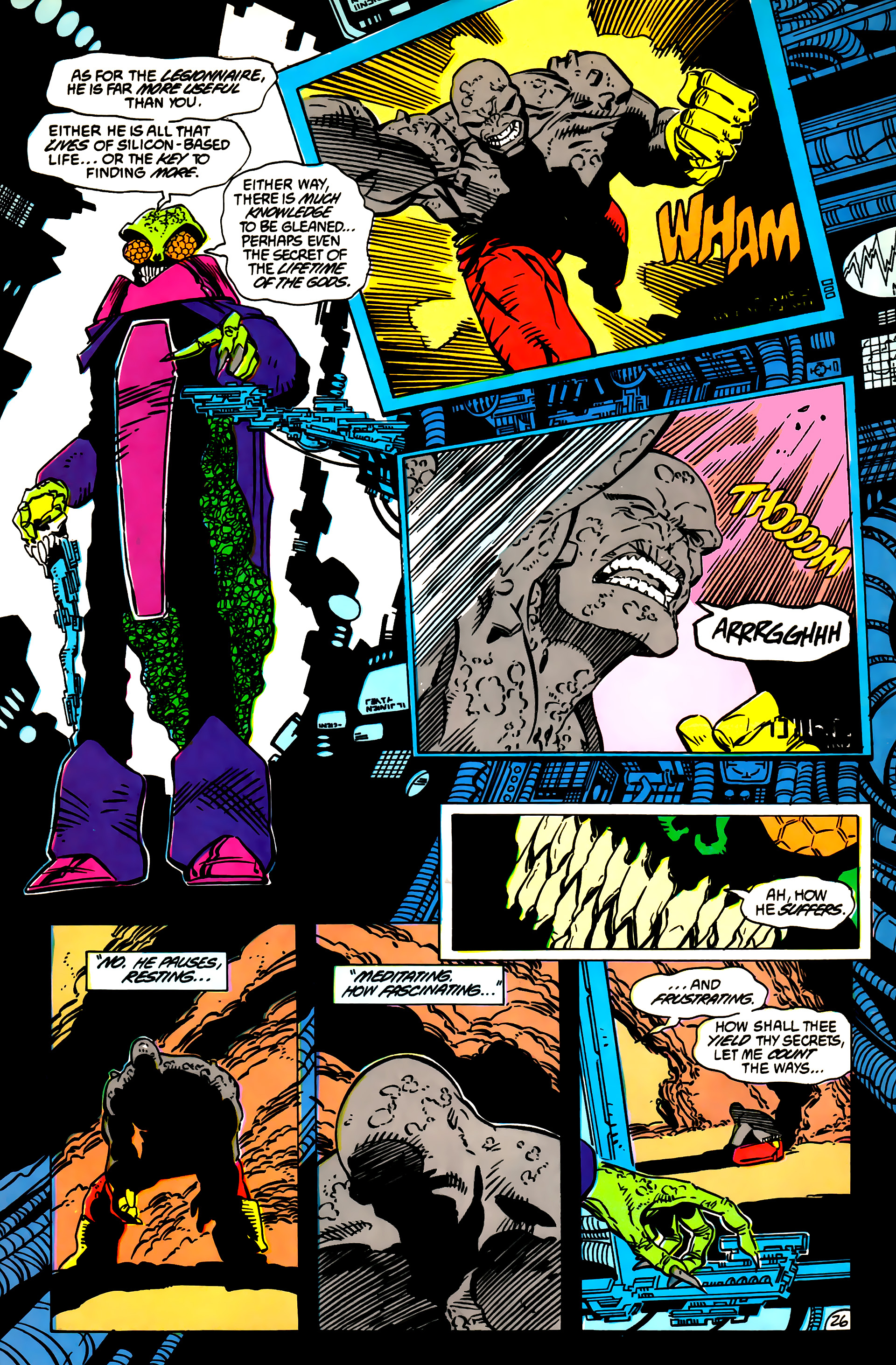 Legion of Super-Heroes (1984) 55 Page 26