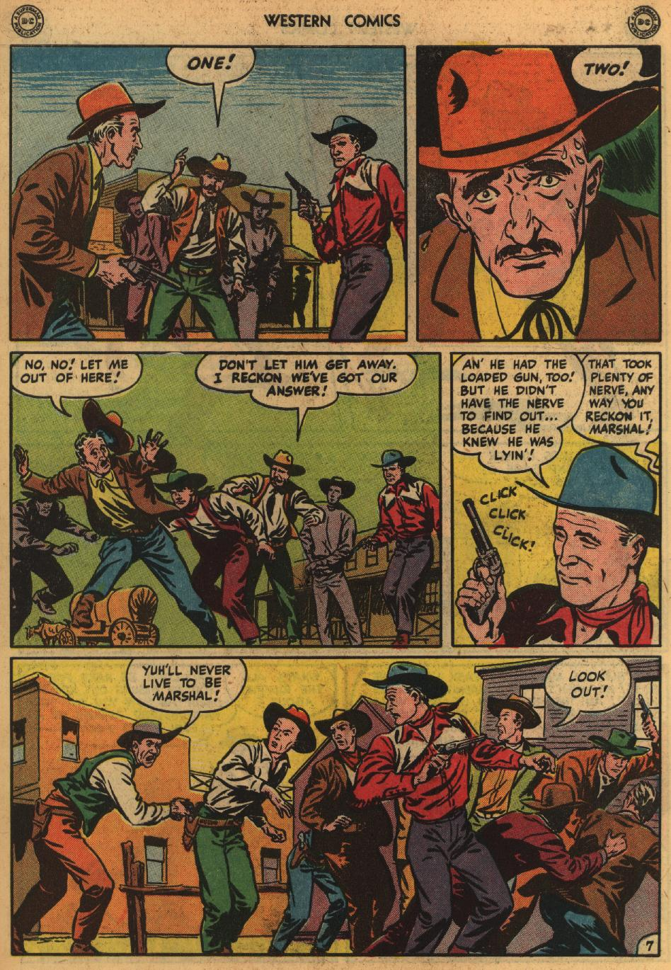 Western Comics issue 1 - Page 9