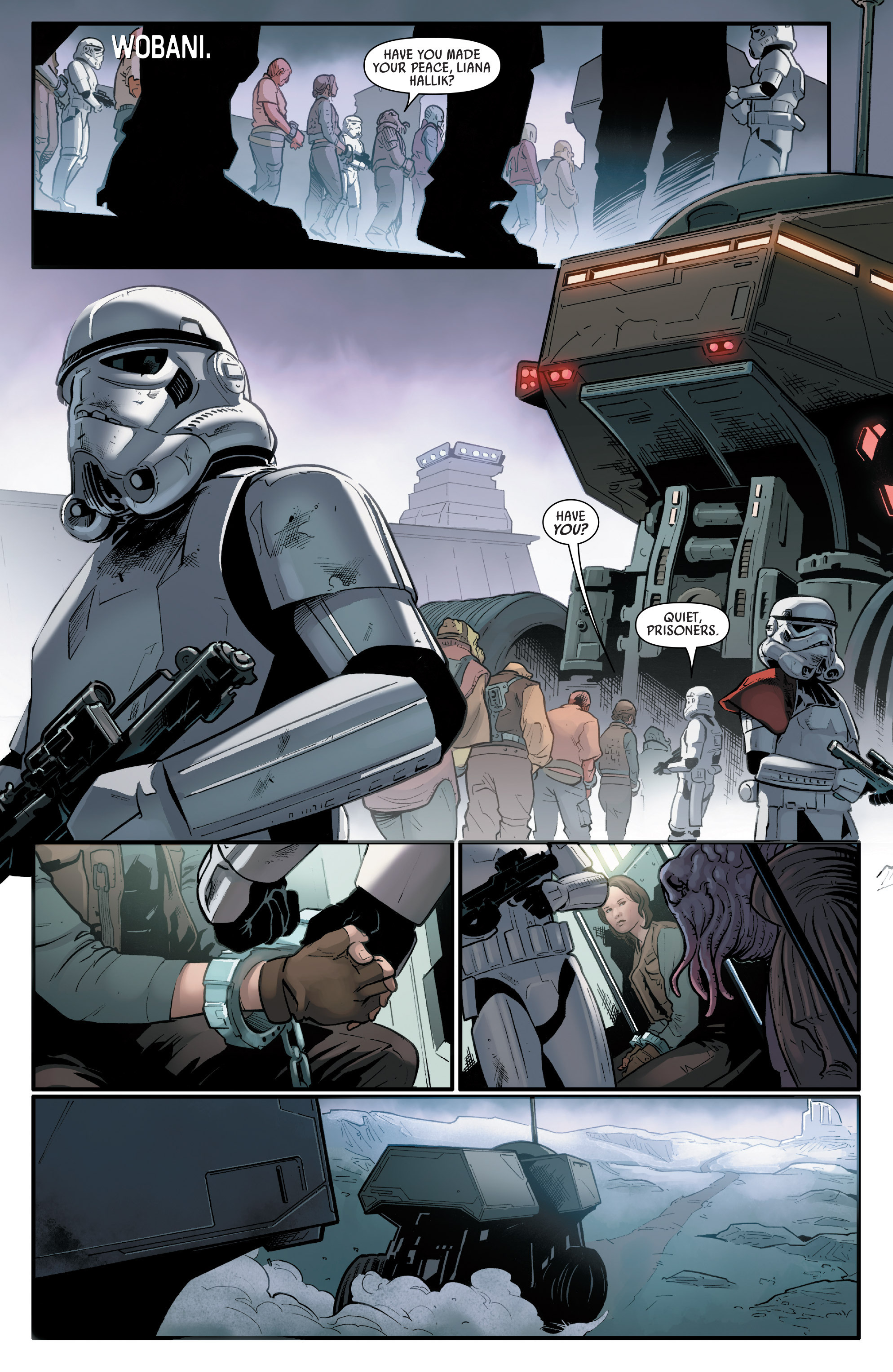 Read online Star Wars: Rogue One Adaptation comic -  Issue #1 - 16