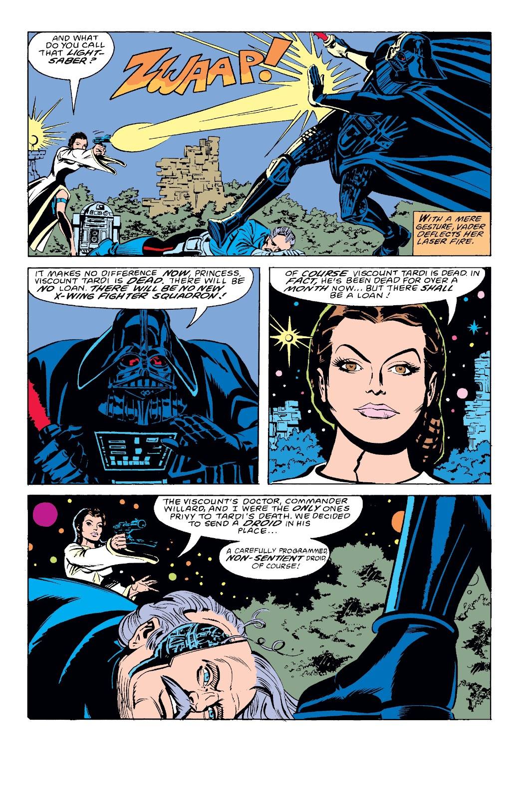 Read online Star Wars Legends: The Original Marvel Years - Epic Collection comic -  Issue # TPB 3 (Part 3) - 1