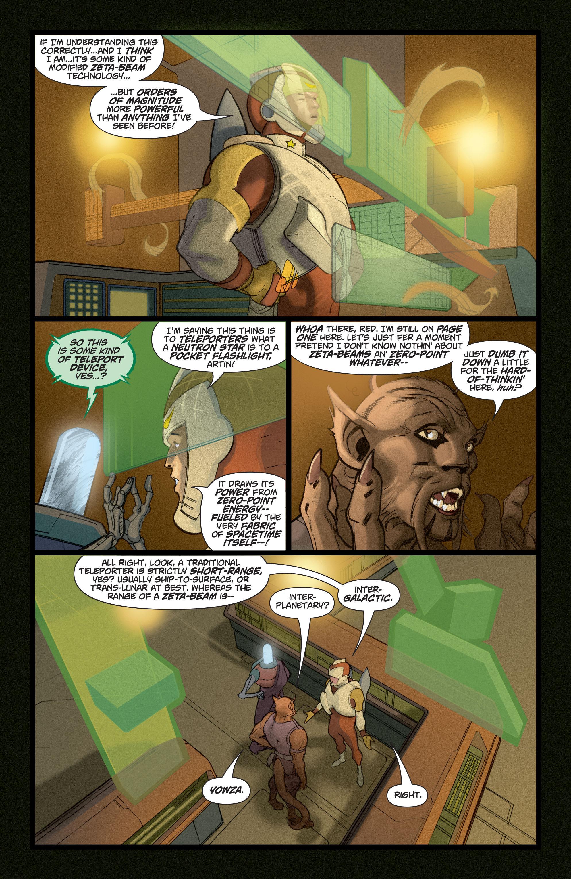 Read online Adam Strange (2004) comic -  Issue #5 - 3