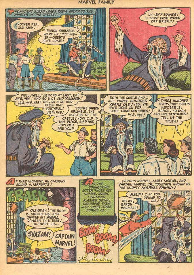 The Marvel Family issue 69 - Page 6
