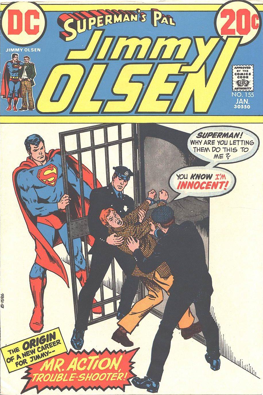 Supermans Pal Jimmy Olsen (1954) 155 Page 1