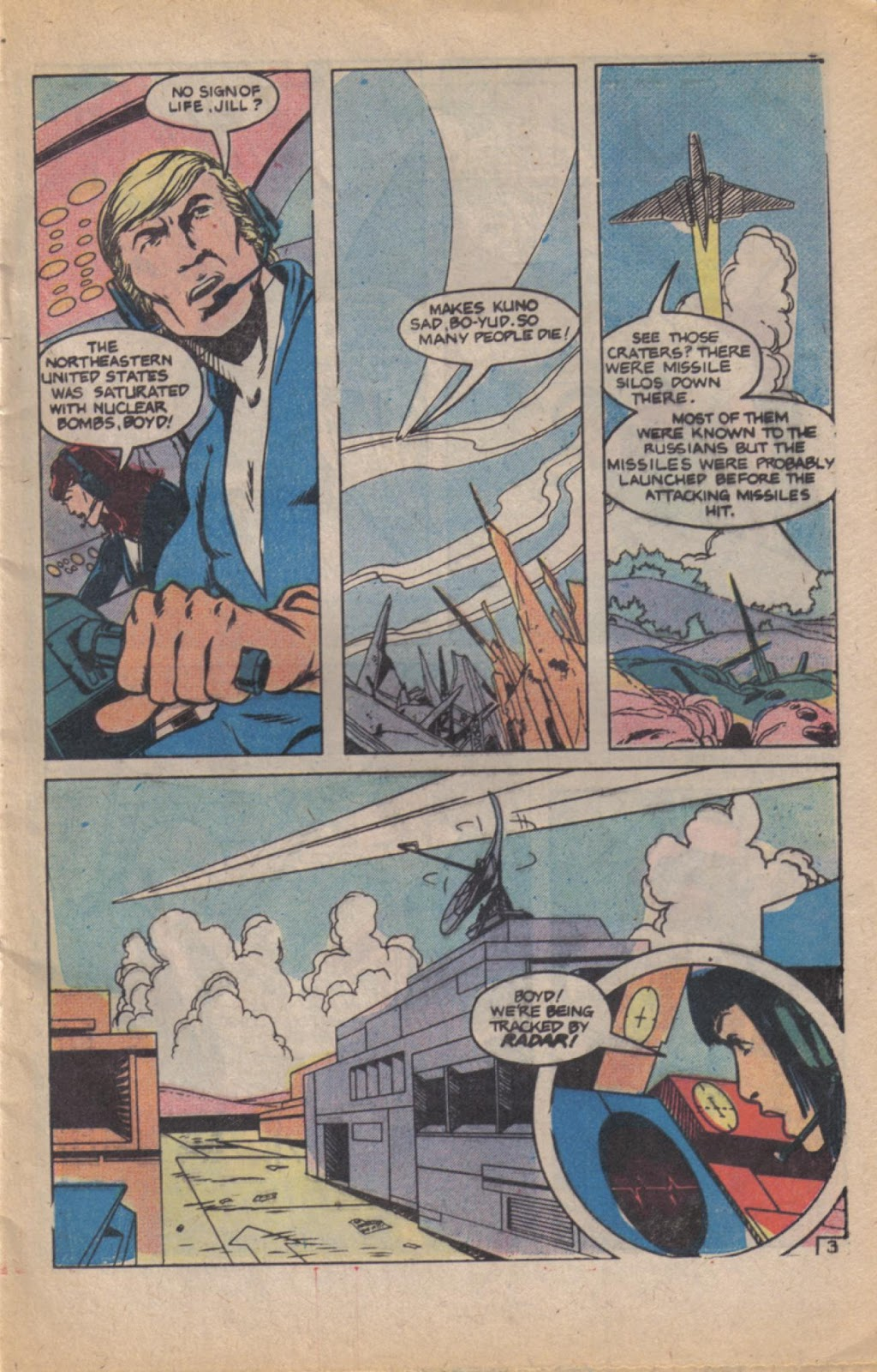 Read online Doomsday   1 (1975) comic -  Issue #11 - 5