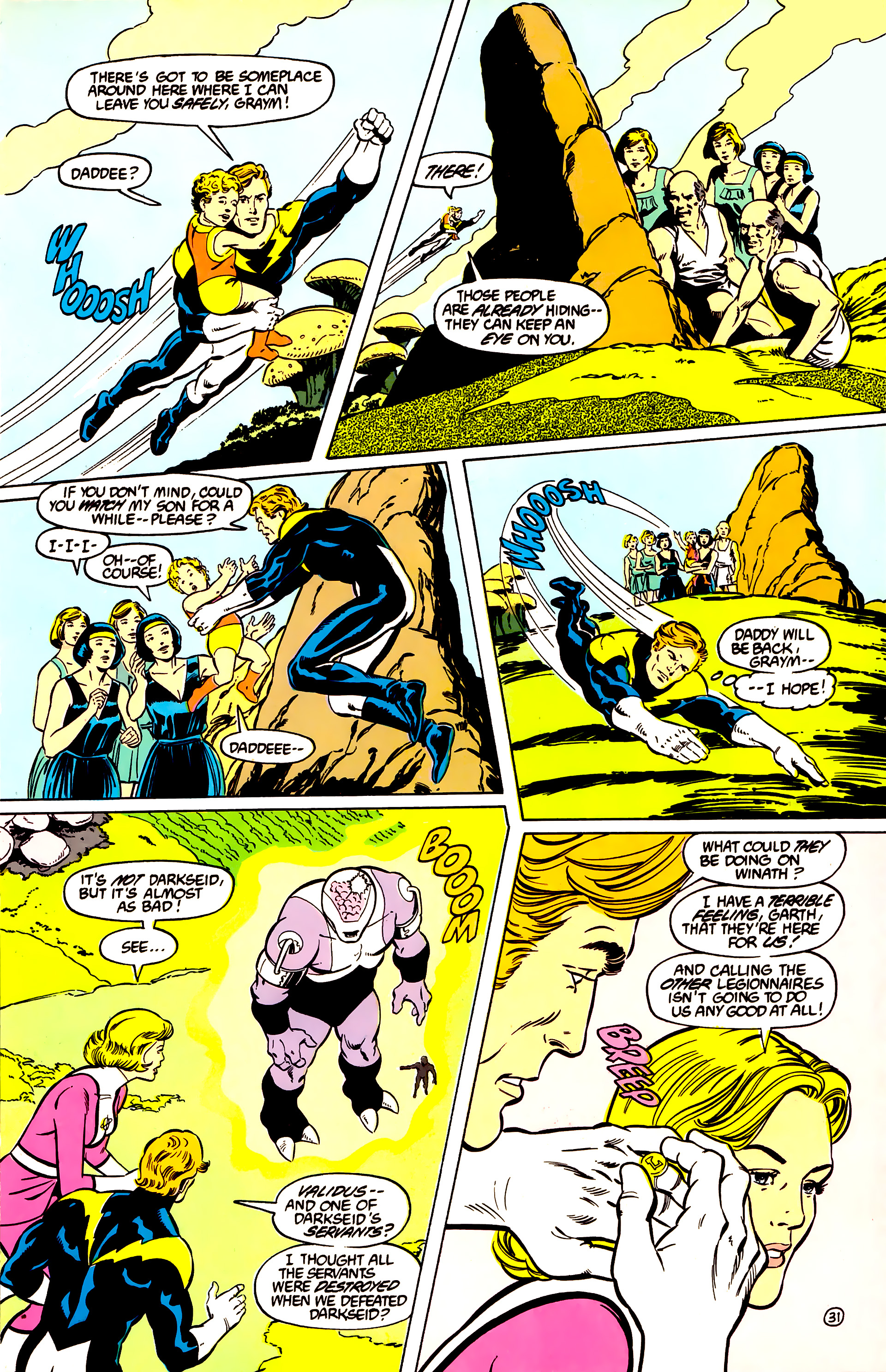 Legion of Super-Heroes (1984) _Annual_2 Page 32