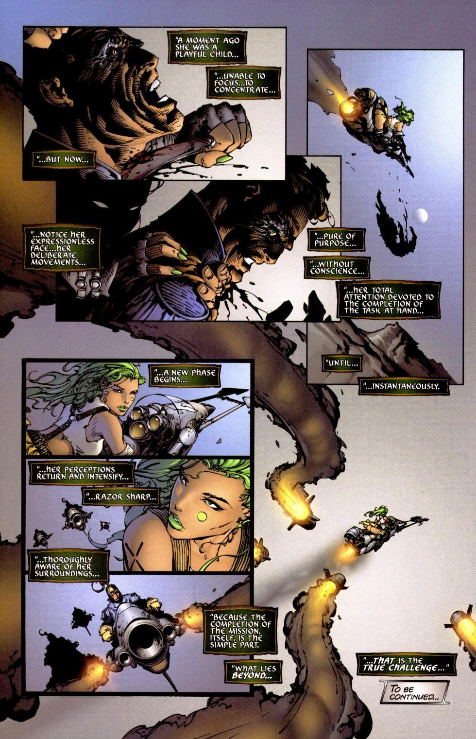 Read online Aphrodite IX (2000) comic -  Issue #1 - 21