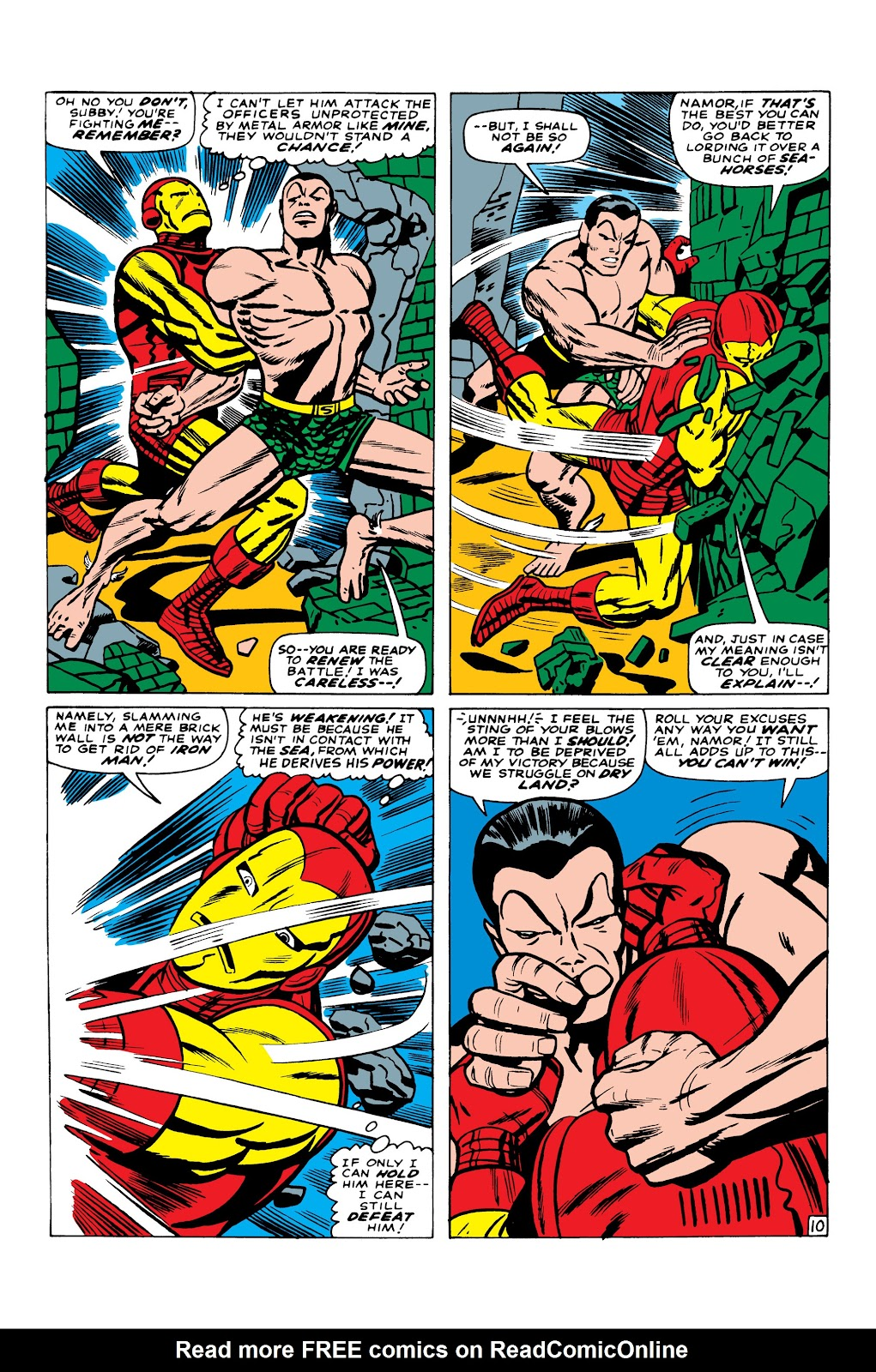 Read online Marvel Masterworks: The Invincible Iron Man comic -  Issue # TPB 3 (Part 5) - 27
