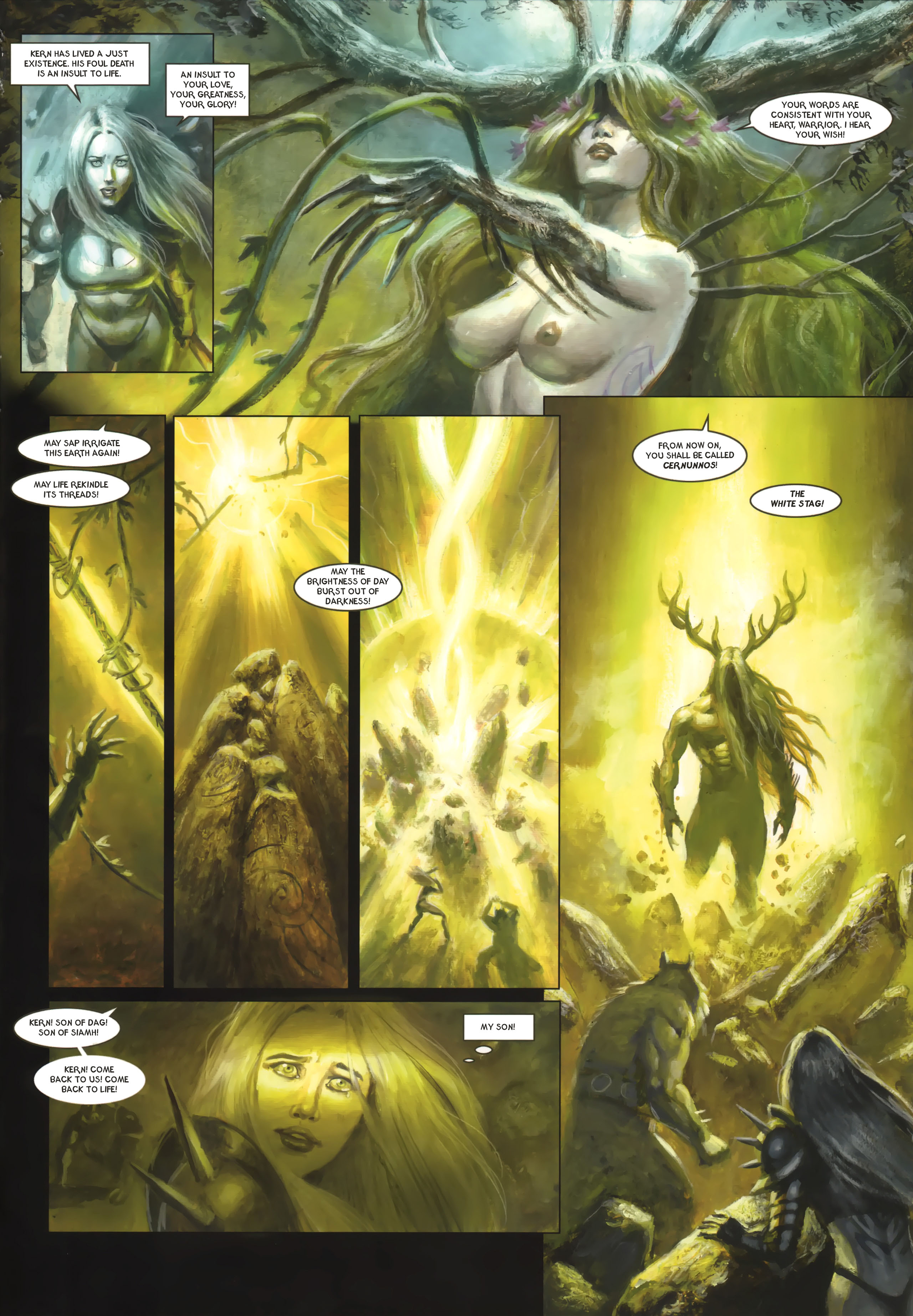 Read online Arawn comic -  Issue #6 - 40