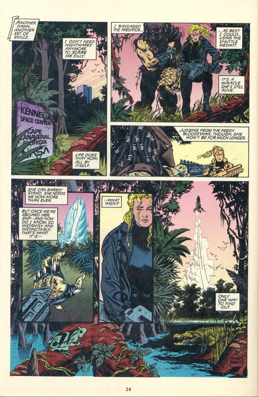 Read online Aliens/Predator: The Deadliest of the Species comic -  Issue #4 - 25