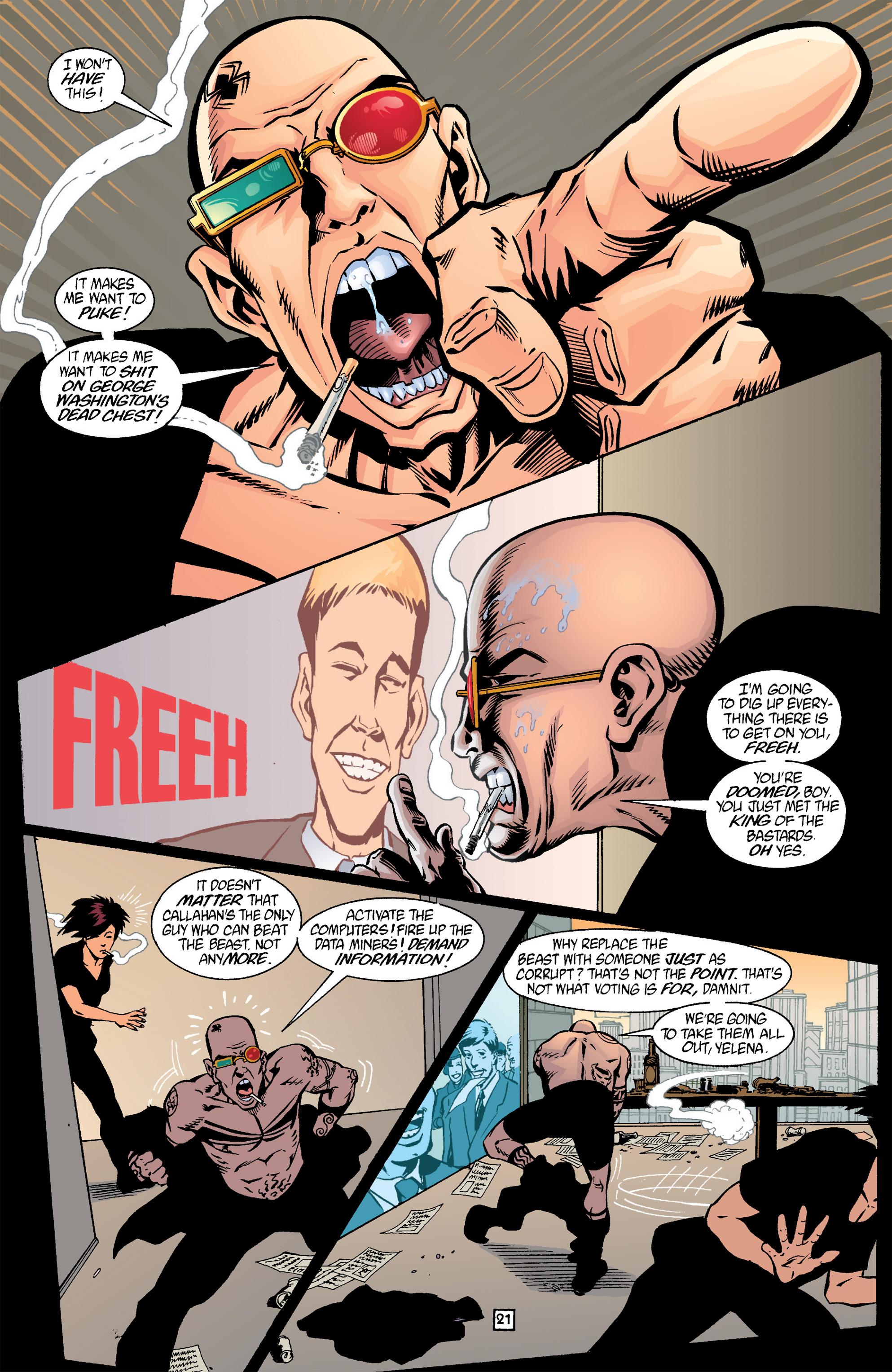 Read online Transmetropolitan comic -  Issue #17 - 22