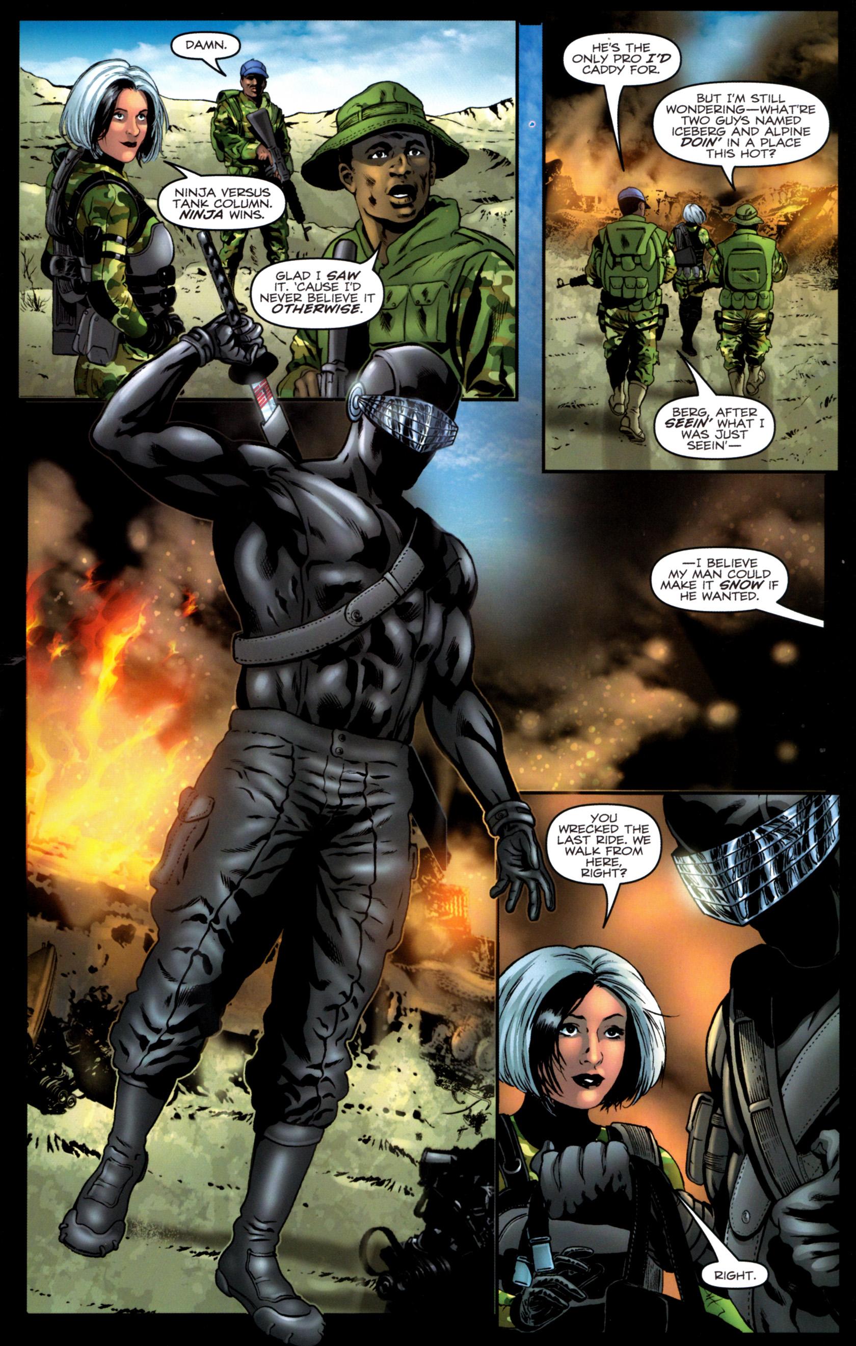 Read online G.I. Joe: Snake Eyes comic -  Issue #9 - 12