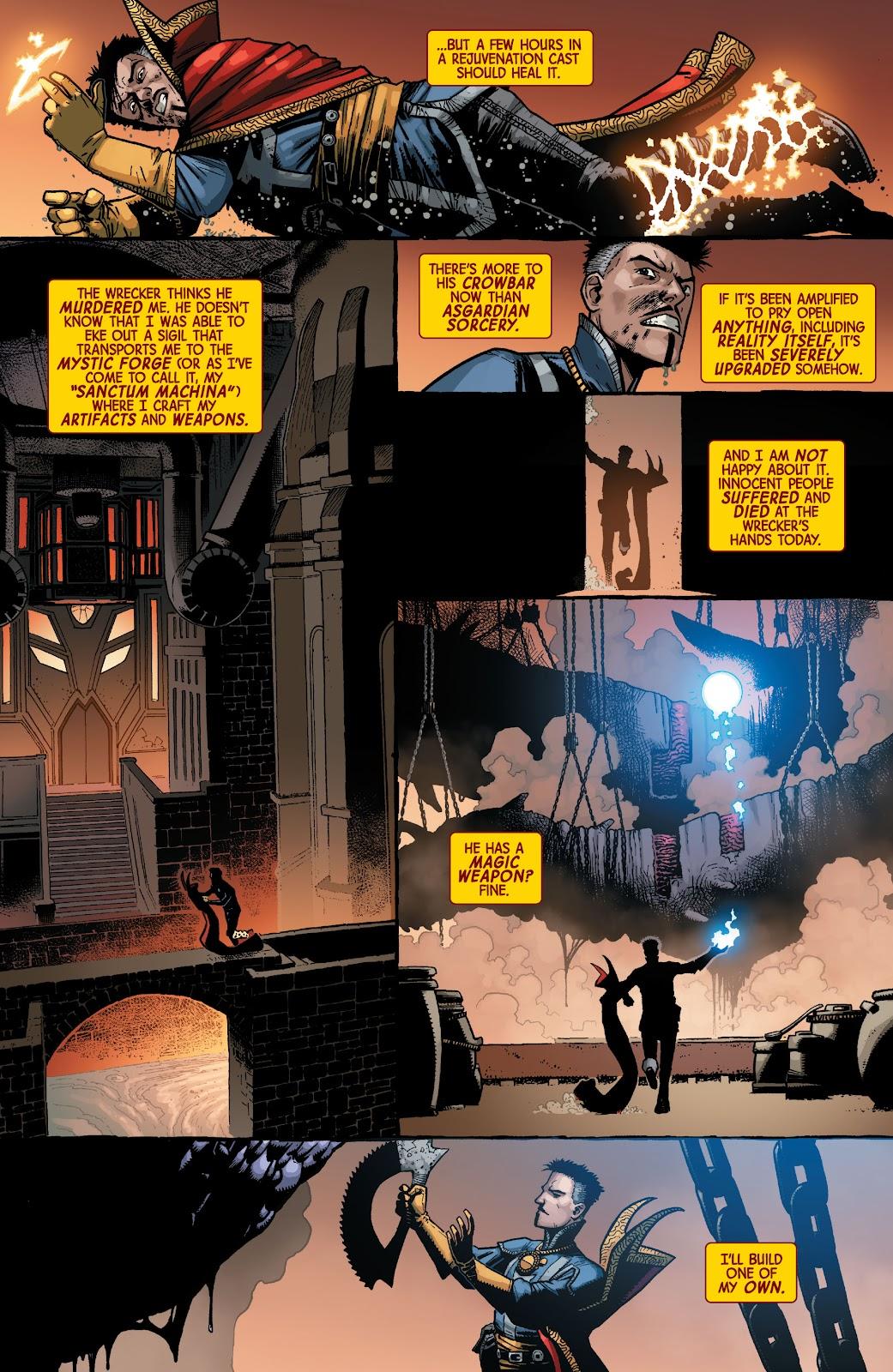 Read online Dr. Strange comic -  Issue #2 - 5