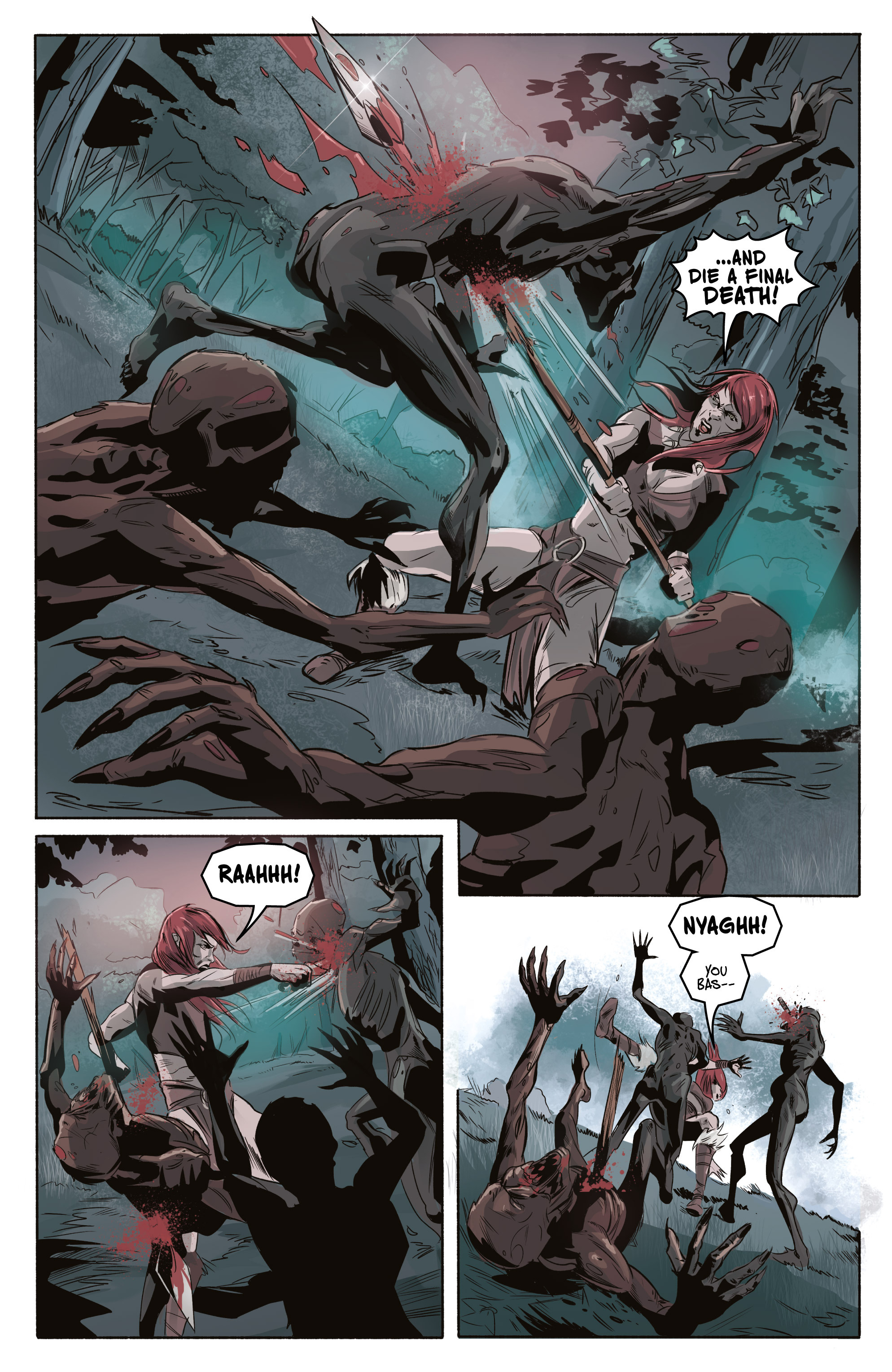 Read online Ghost Wolf comic -  Issue #3 - 23