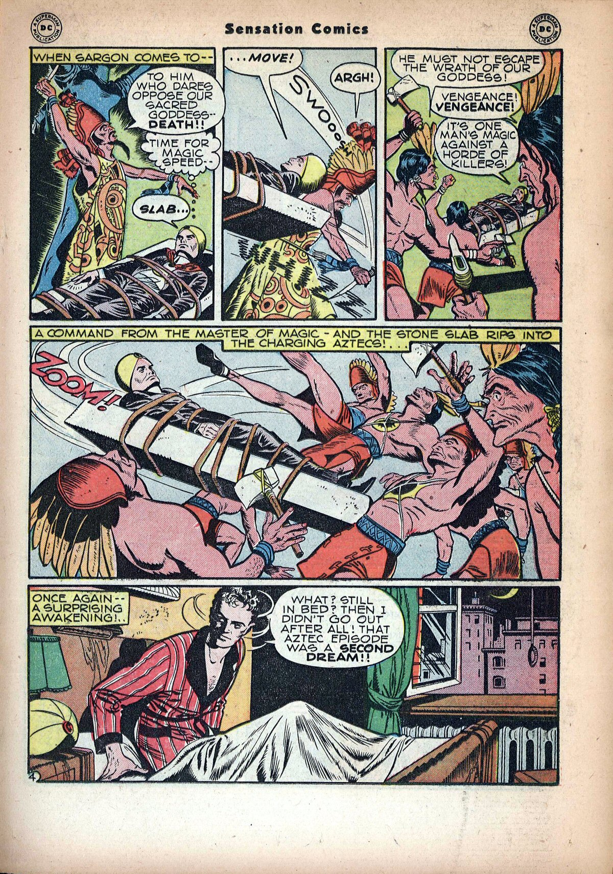 Read online Sensation (Mystery) Comics comic -  Issue #72 - 27