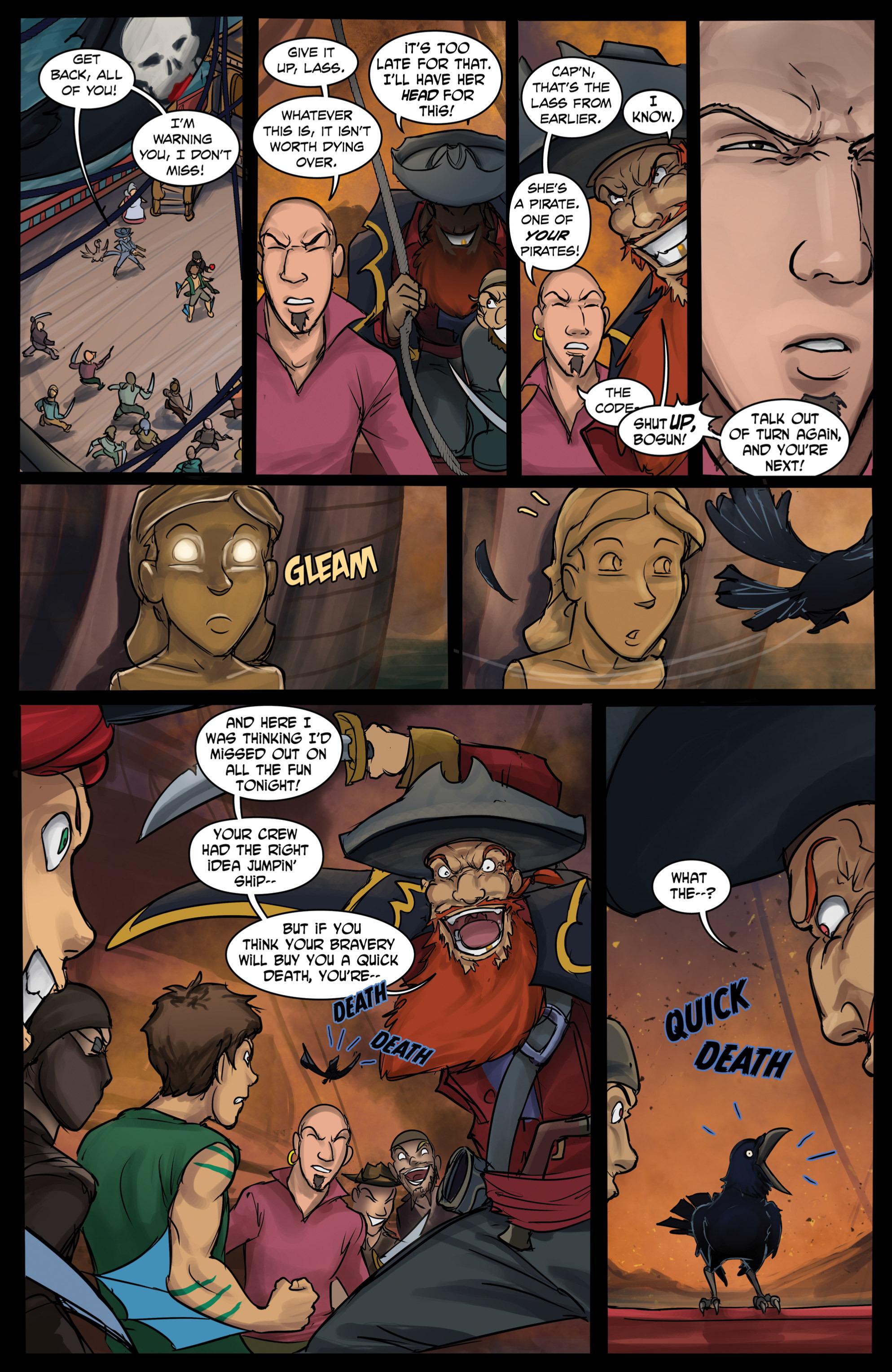 Read online Anne Bonnie comic -  Issue #6 - 17