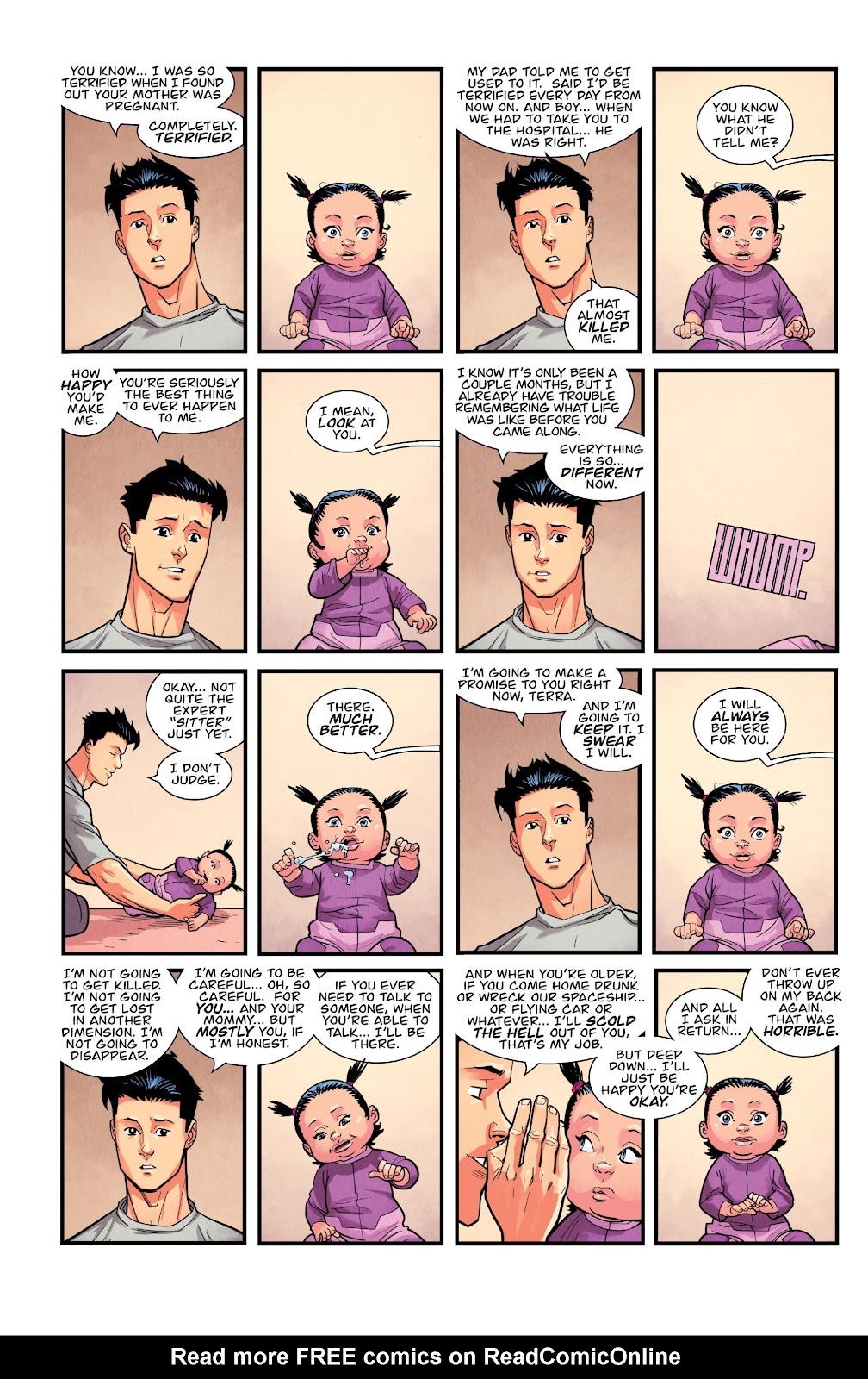 Invincible (2003) issue TPB 21 - Modern Family - Page 122