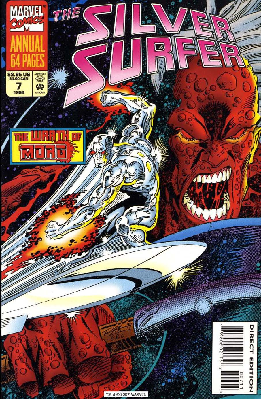 Read online Silver Surfer (1987) comic -  Issue # _Annual 7 - 1