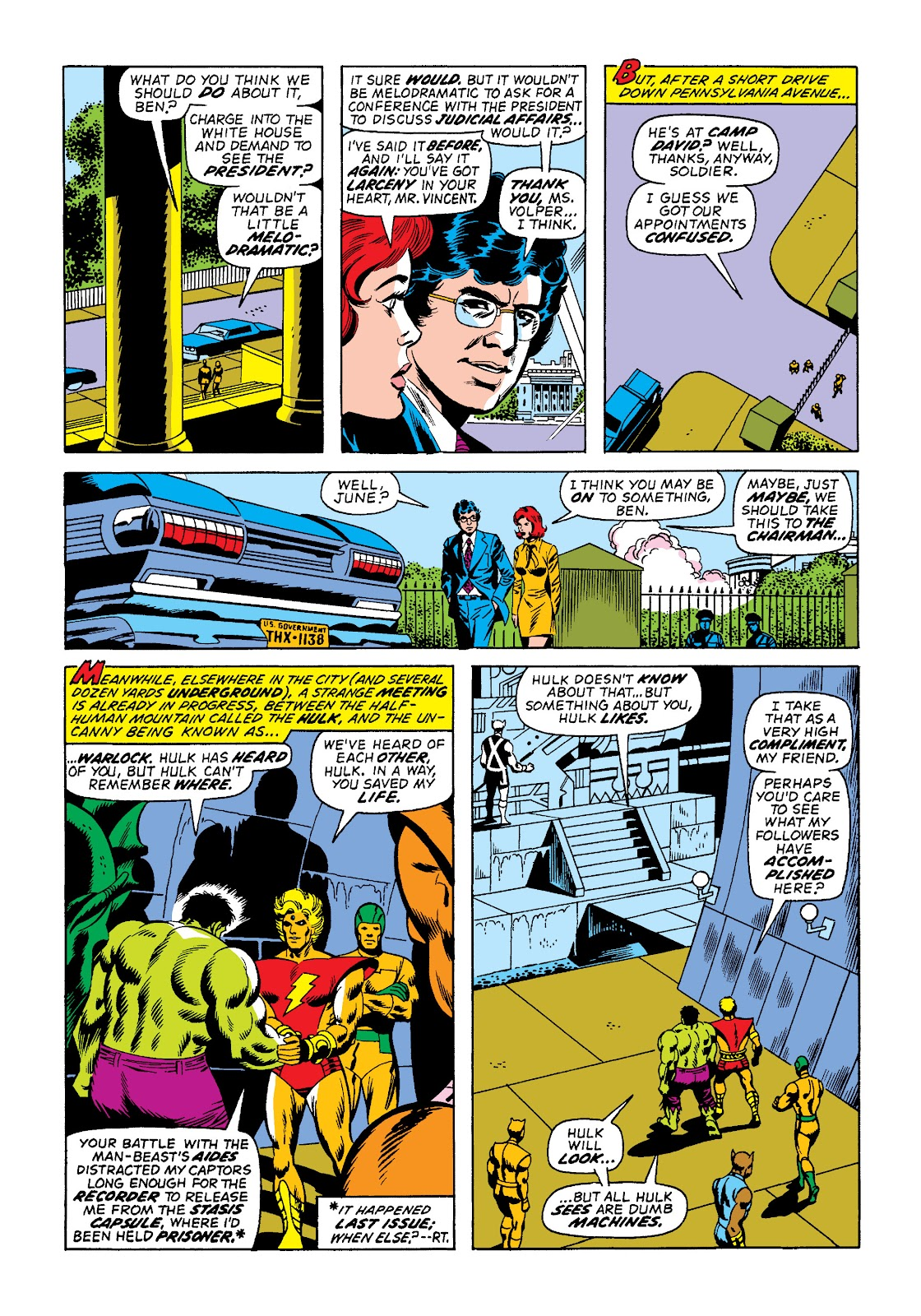 Read online Marvel Masterworks: The Incredible Hulk comic -  Issue # TPB 10 (Part 2) - 36
