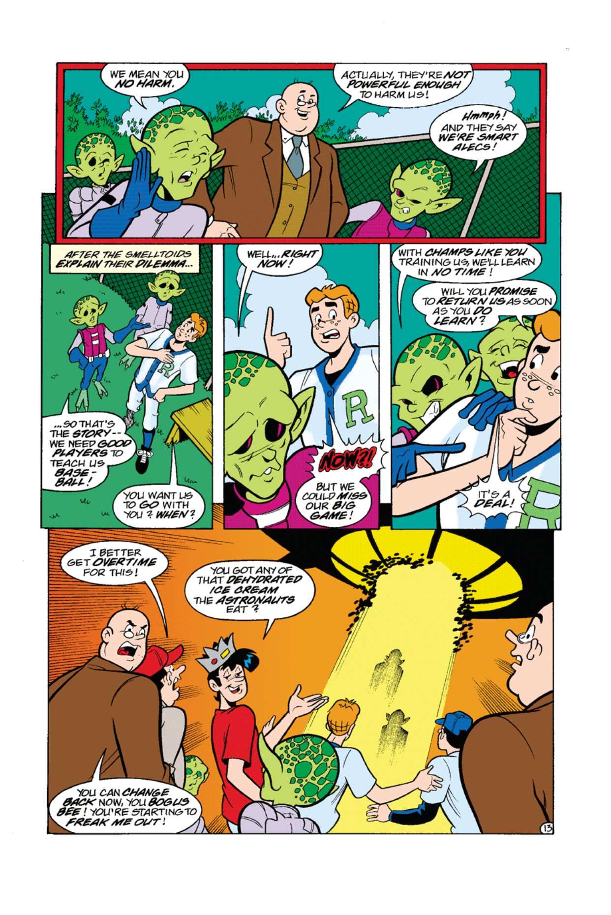 Read online Archie's Weird Mysteries comic -  Issue #7 - 15