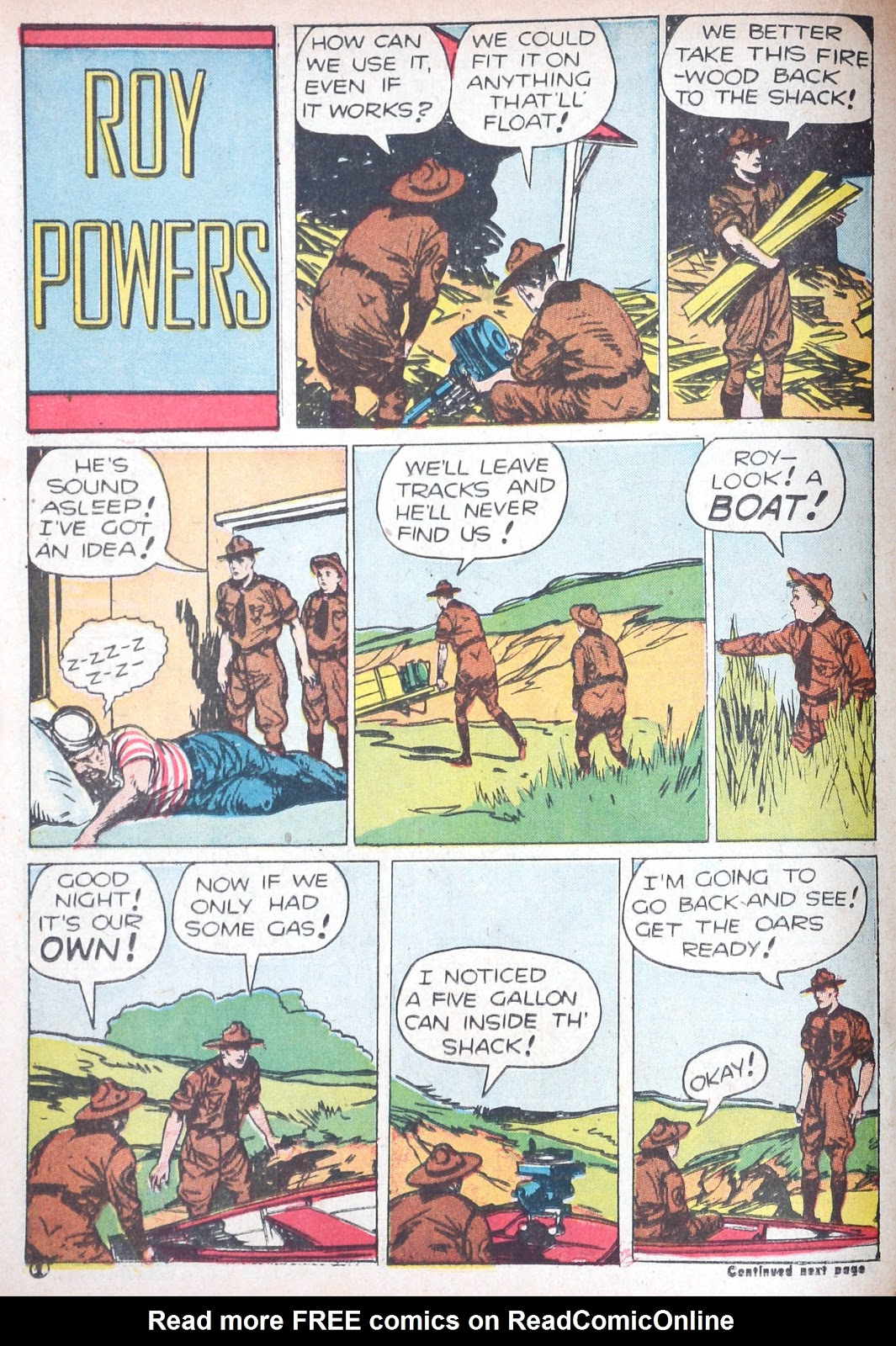 Read online Famous Funnies comic -  Issue #85 - 41