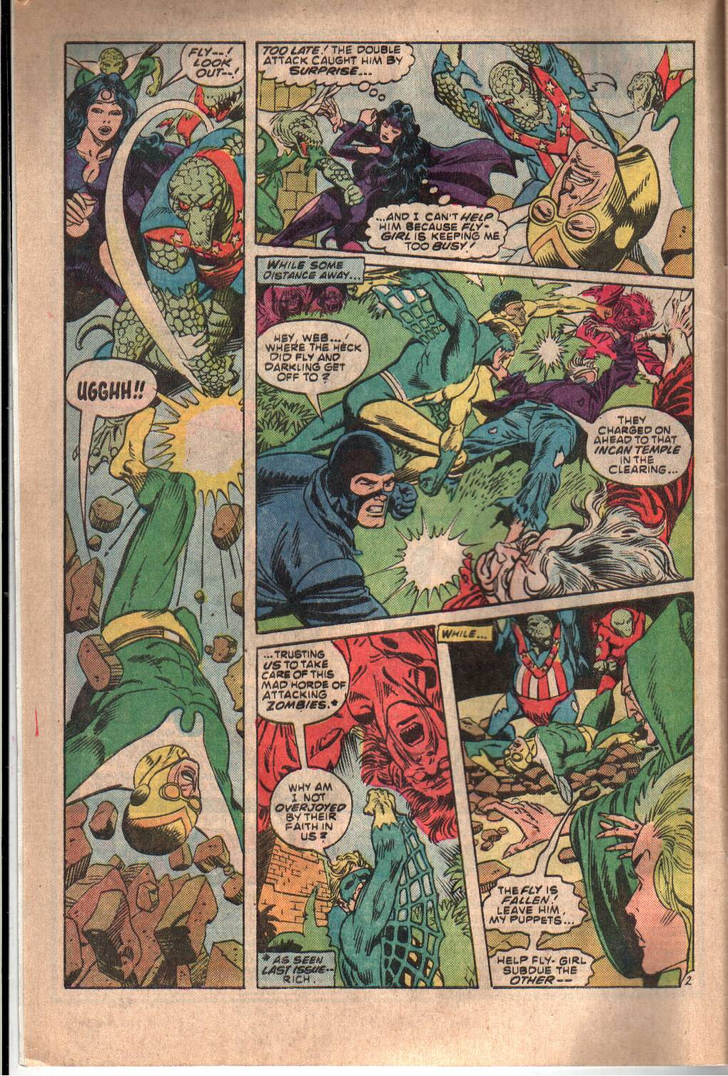 The All New Adventures of the Mighty Crusaders 8 Page 3