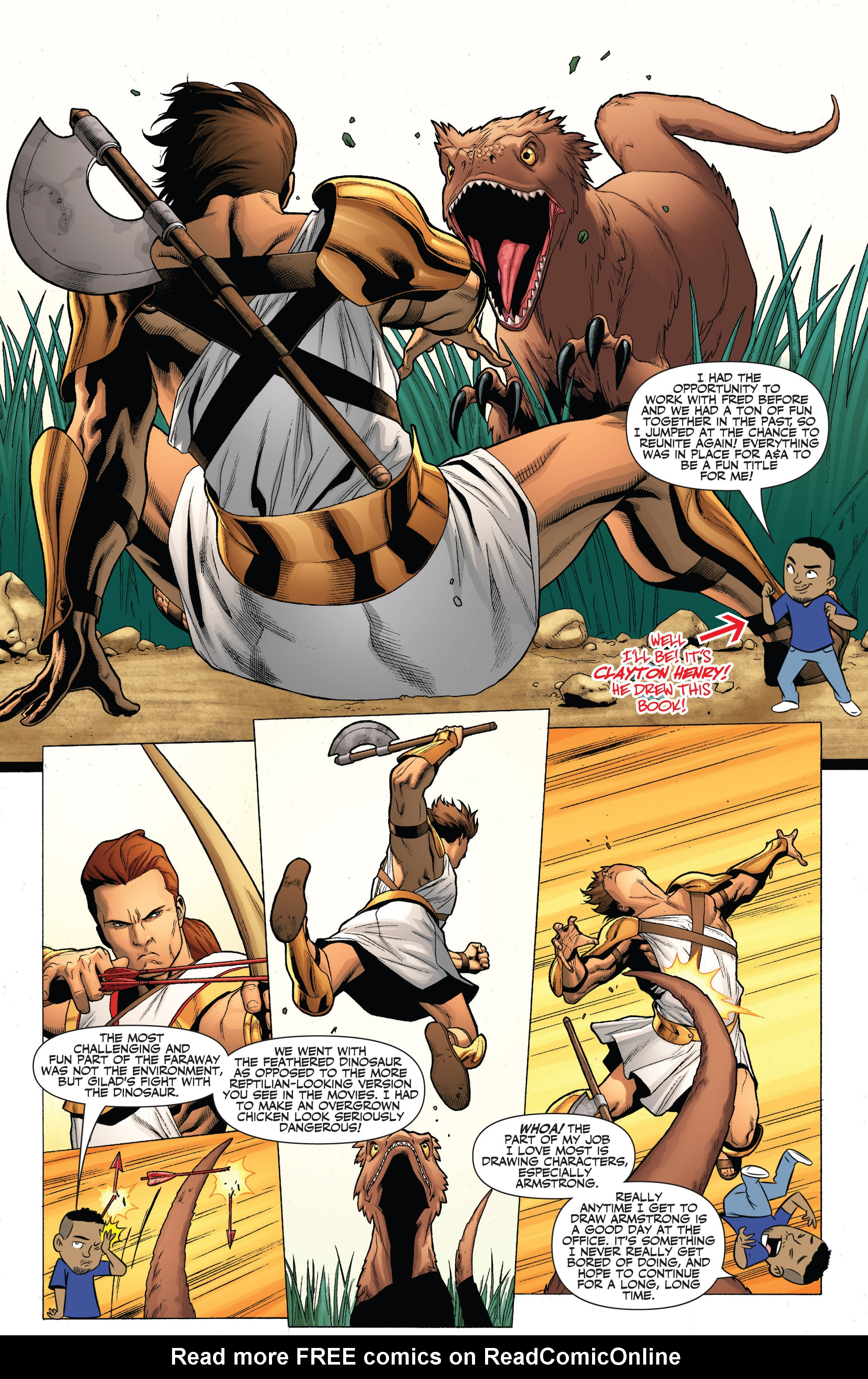 Read online Archer and Armstrong comic -  Issue #Archer and Armstrong _TPB 7 - 98