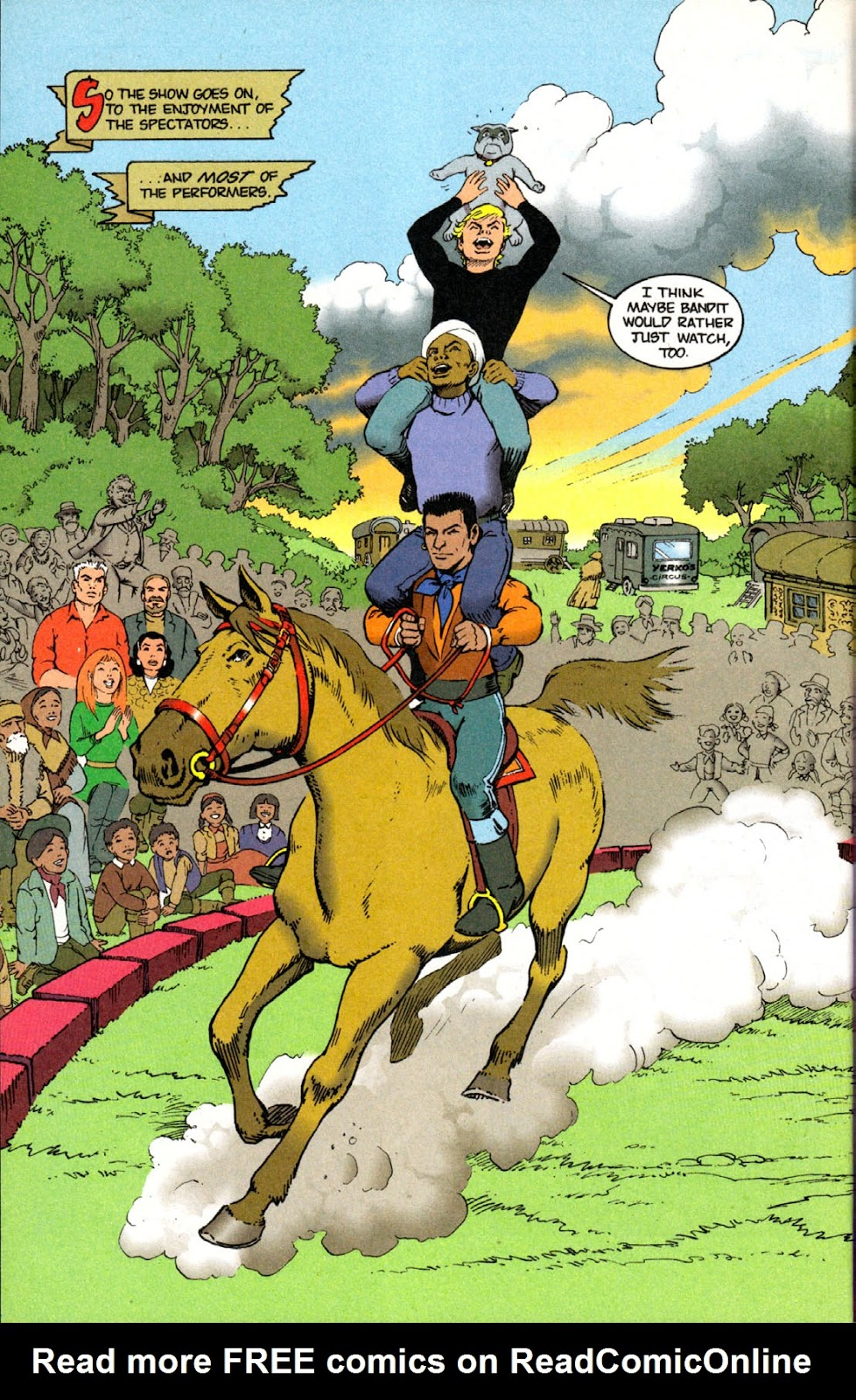Read online The Real Adventures of Jonny Quest comic -  Issue #4 - 30