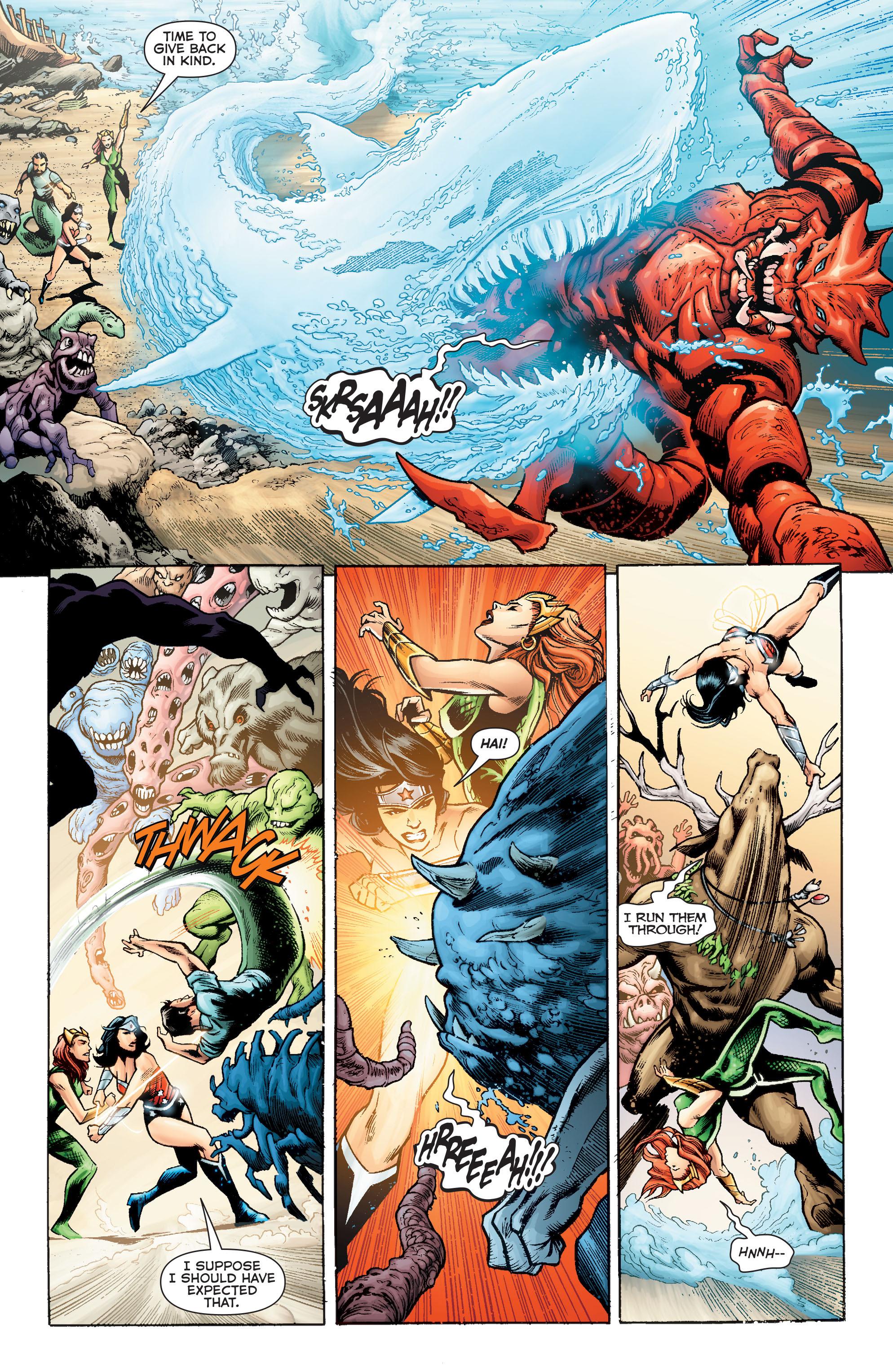 Read online Aquaman (2011) comic -  Issue #Aquaman (2011) _Annual 2 - 34
